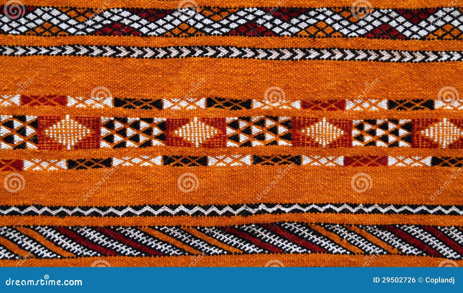 Marokkaans tapijtdetail