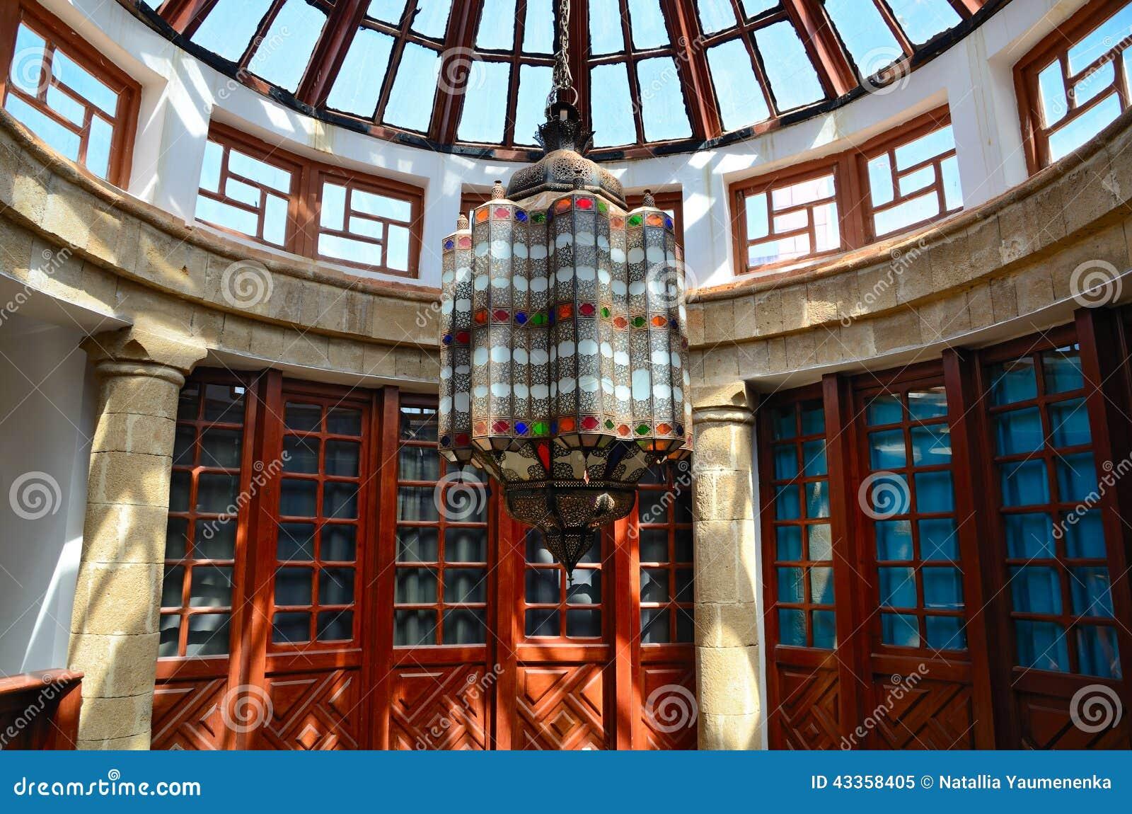 Marokkaanse Lampen Huis : Marokkaanse lamp stock afbeelding. afbeelding bestaande uit