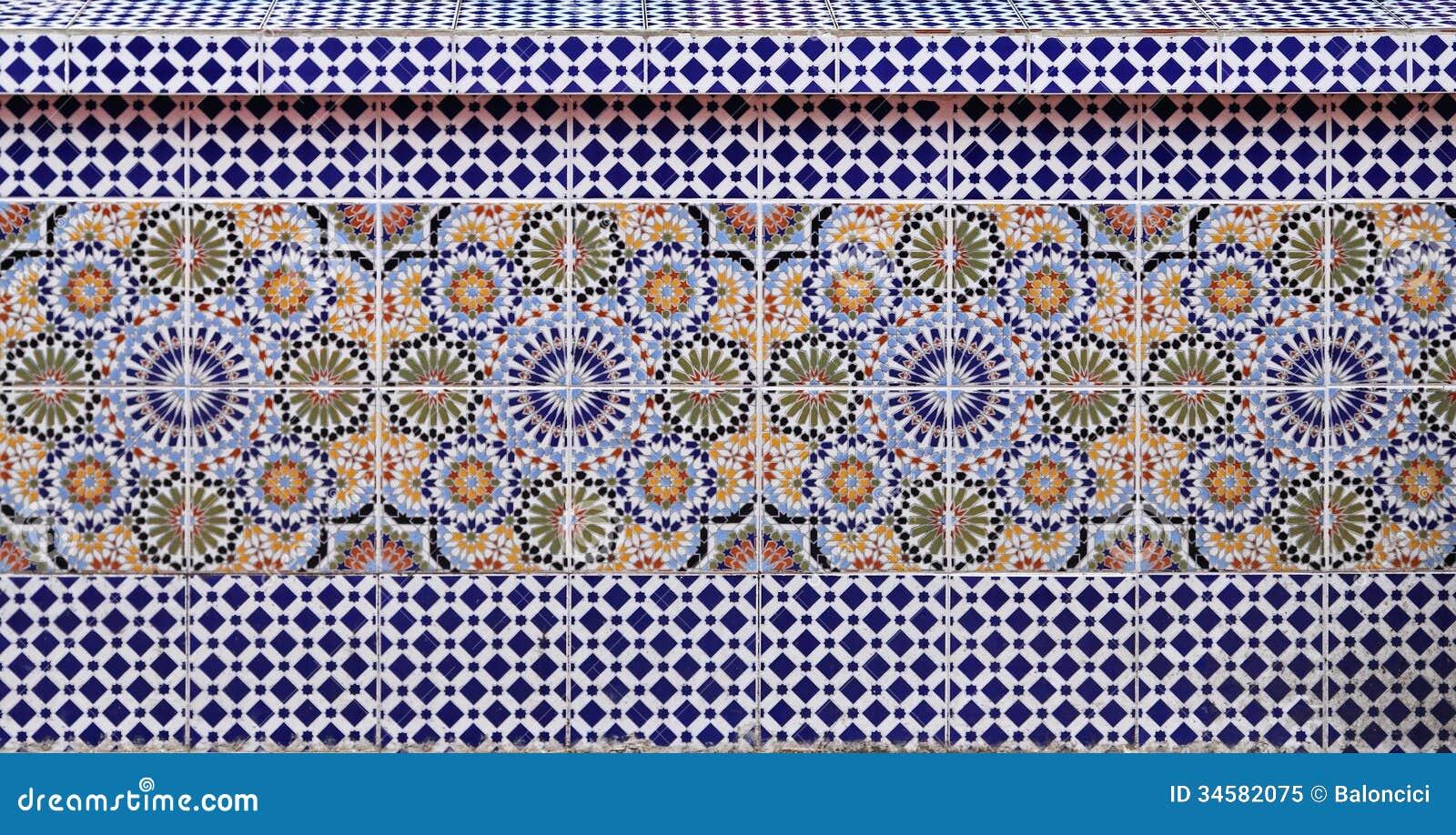 Marokkaanse tegels royalty vrije stock foto afbeelding 34582075 - Oosterse tegels ...