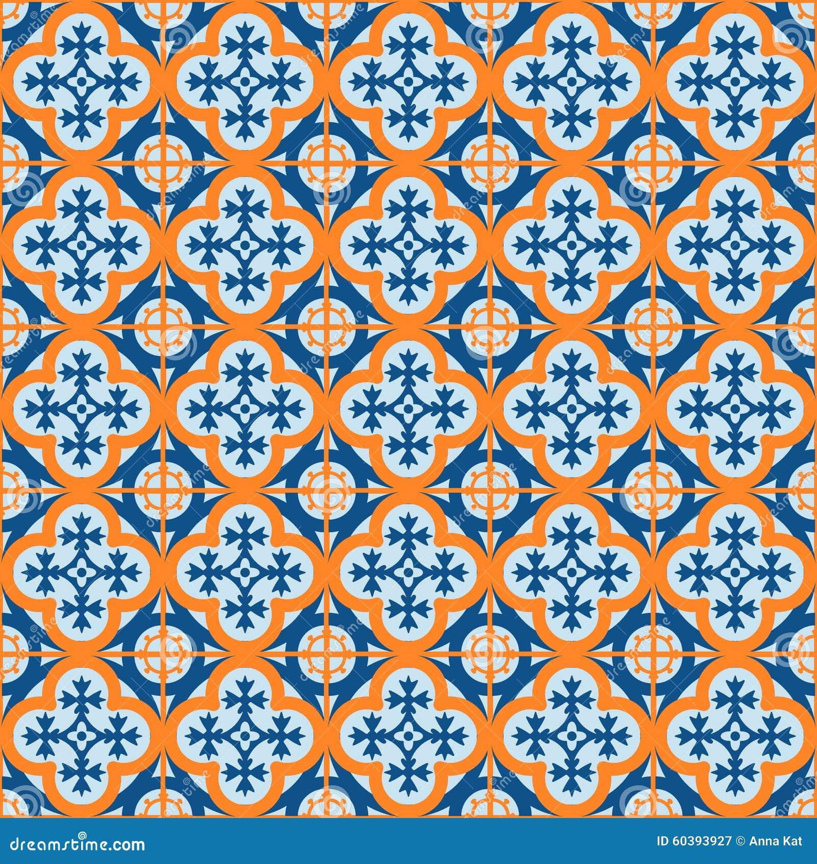Marokkanische fliesen vektor abbildung bild 60393927 for Marokkanische fliesen