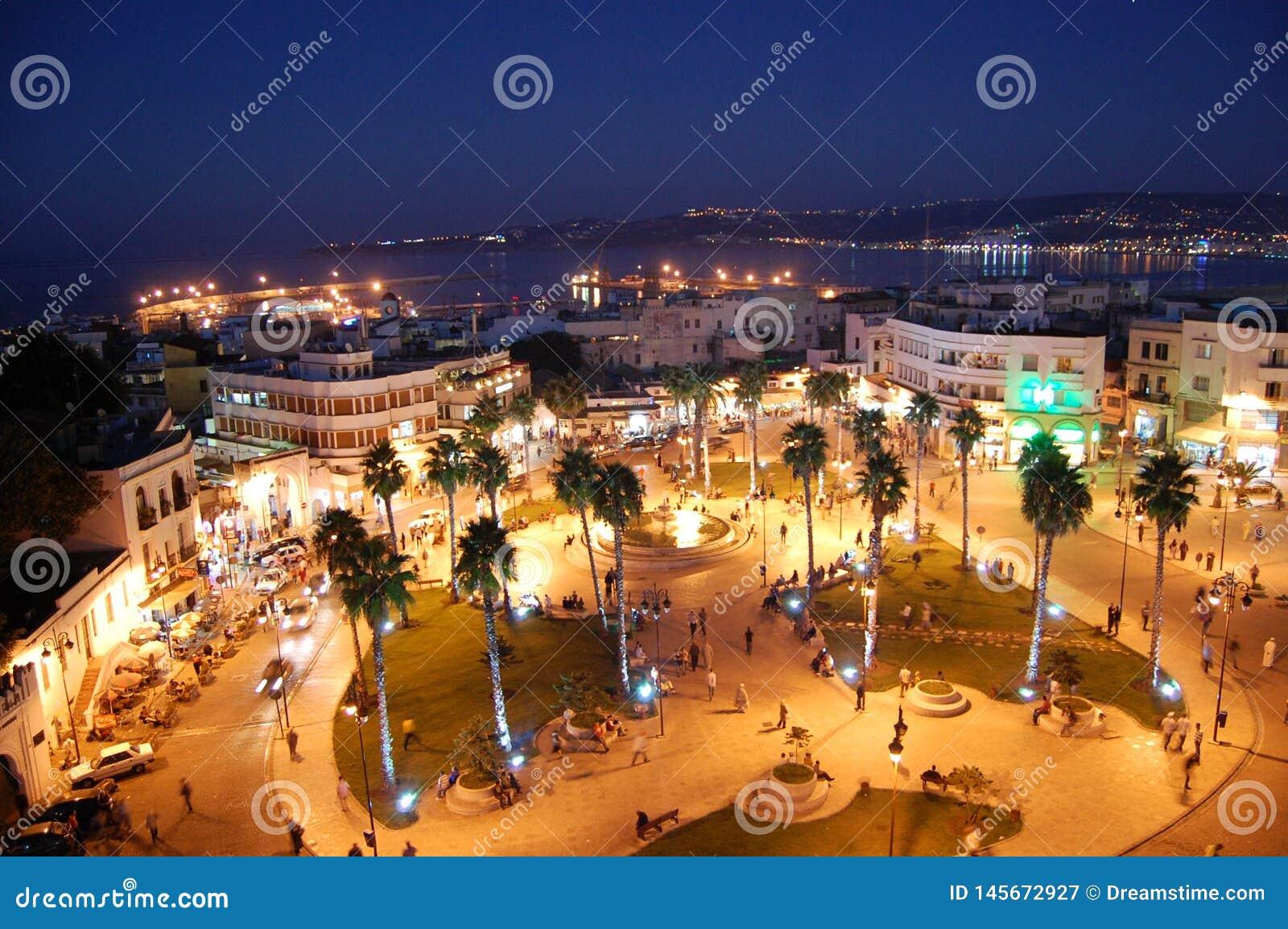 Marokkanische Städte bewohnt von den Bürgern des andalusischen Ursprung