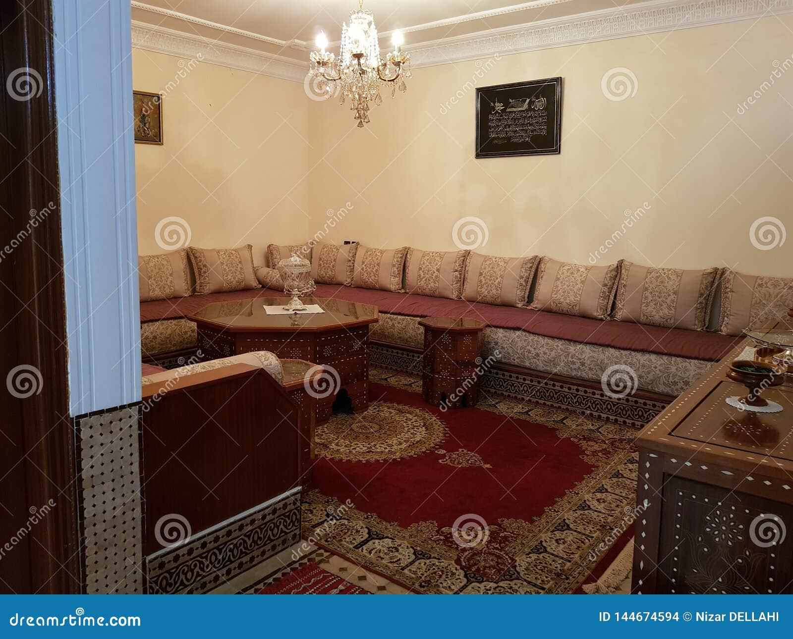 Marokkanisches traditionelles Wohnzimmer