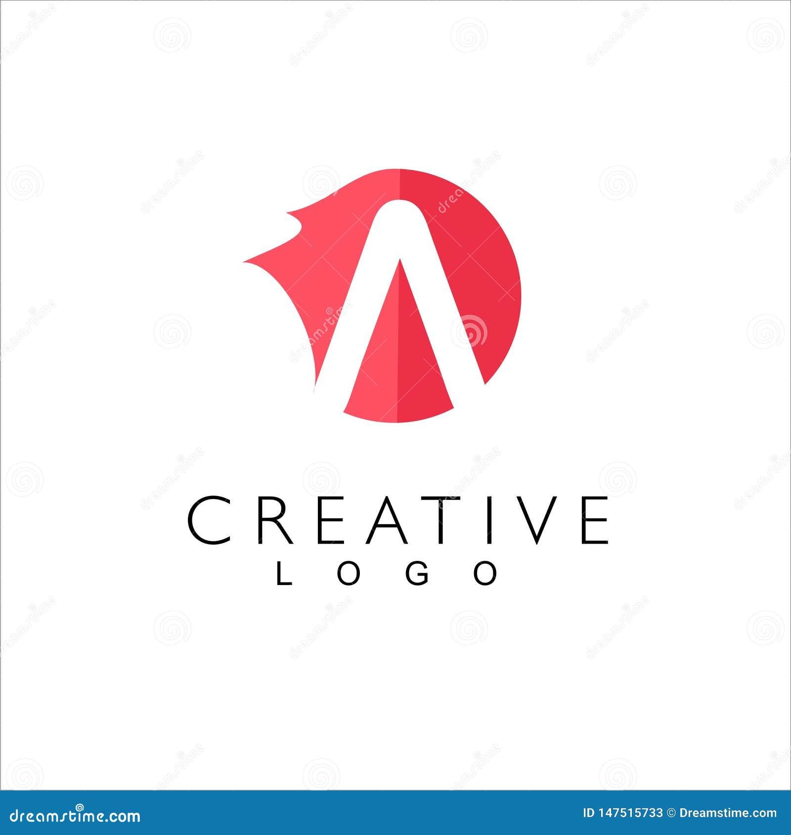 Marque avec des lettres le logo cr?atif pour la soci?t?
