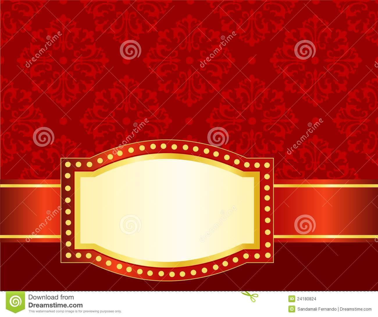 Marquee background / frame stock vector. Image of bill ...