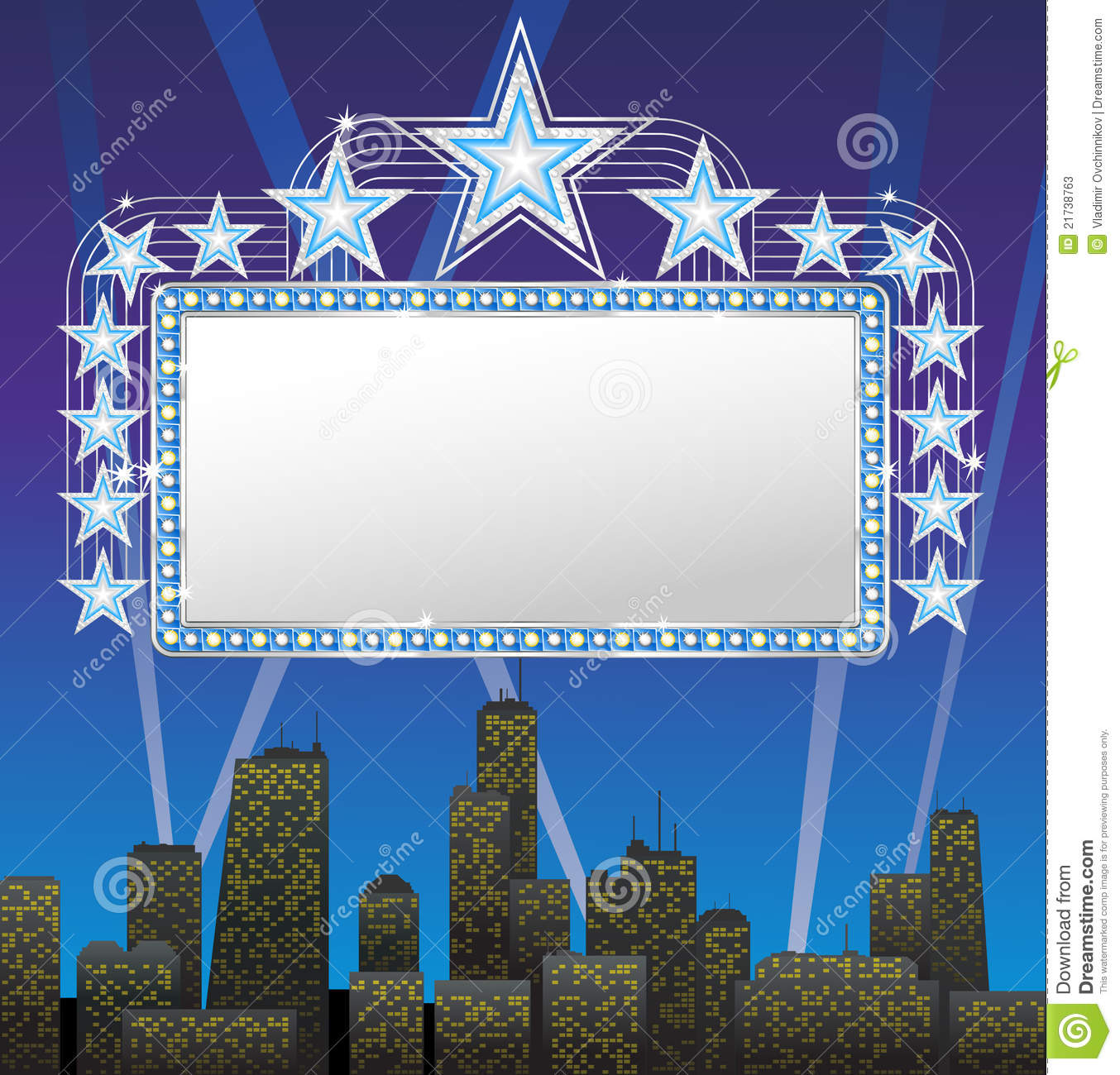 Marquee Banner Vector Art | Getty Images