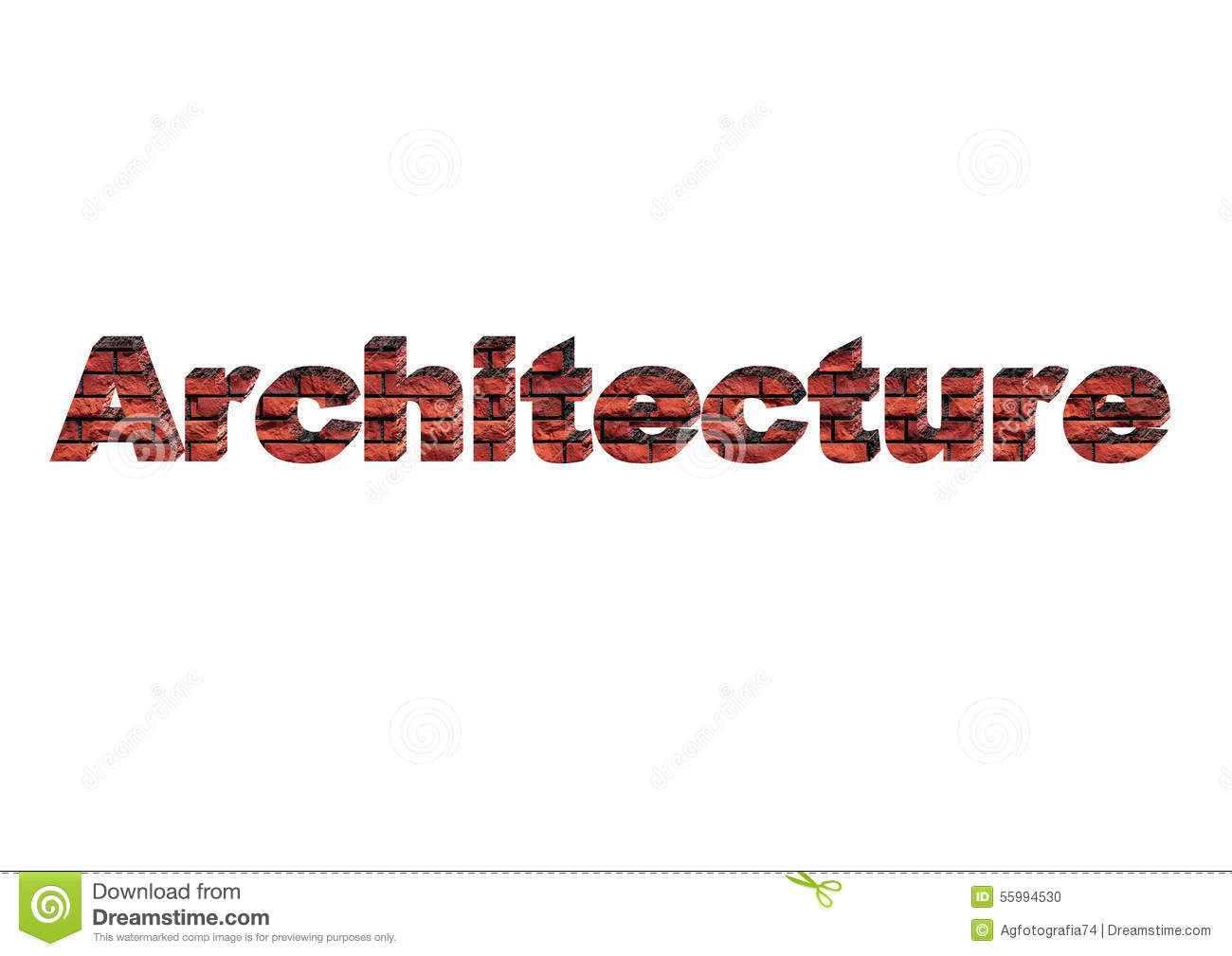 Marquee 3d Architecture Stock Illustration Image 55994530