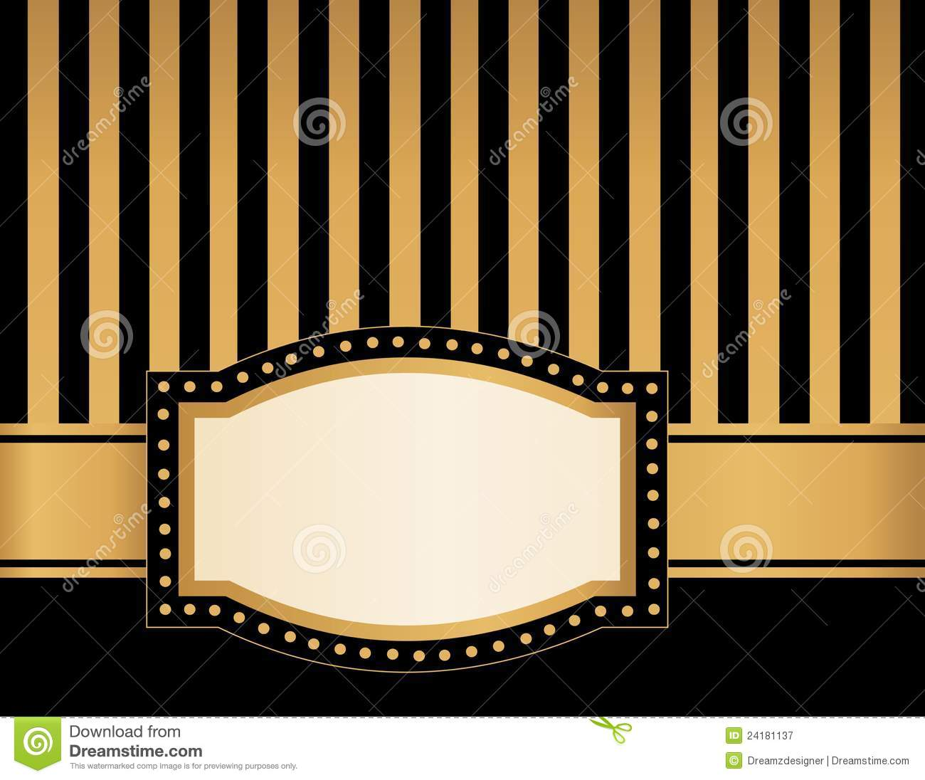 Broadway Lights Border Clipart Marquee Frame R...