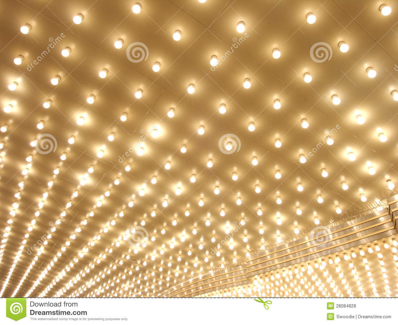 Broadway Lights Marquee Marquee lights Royalty Free