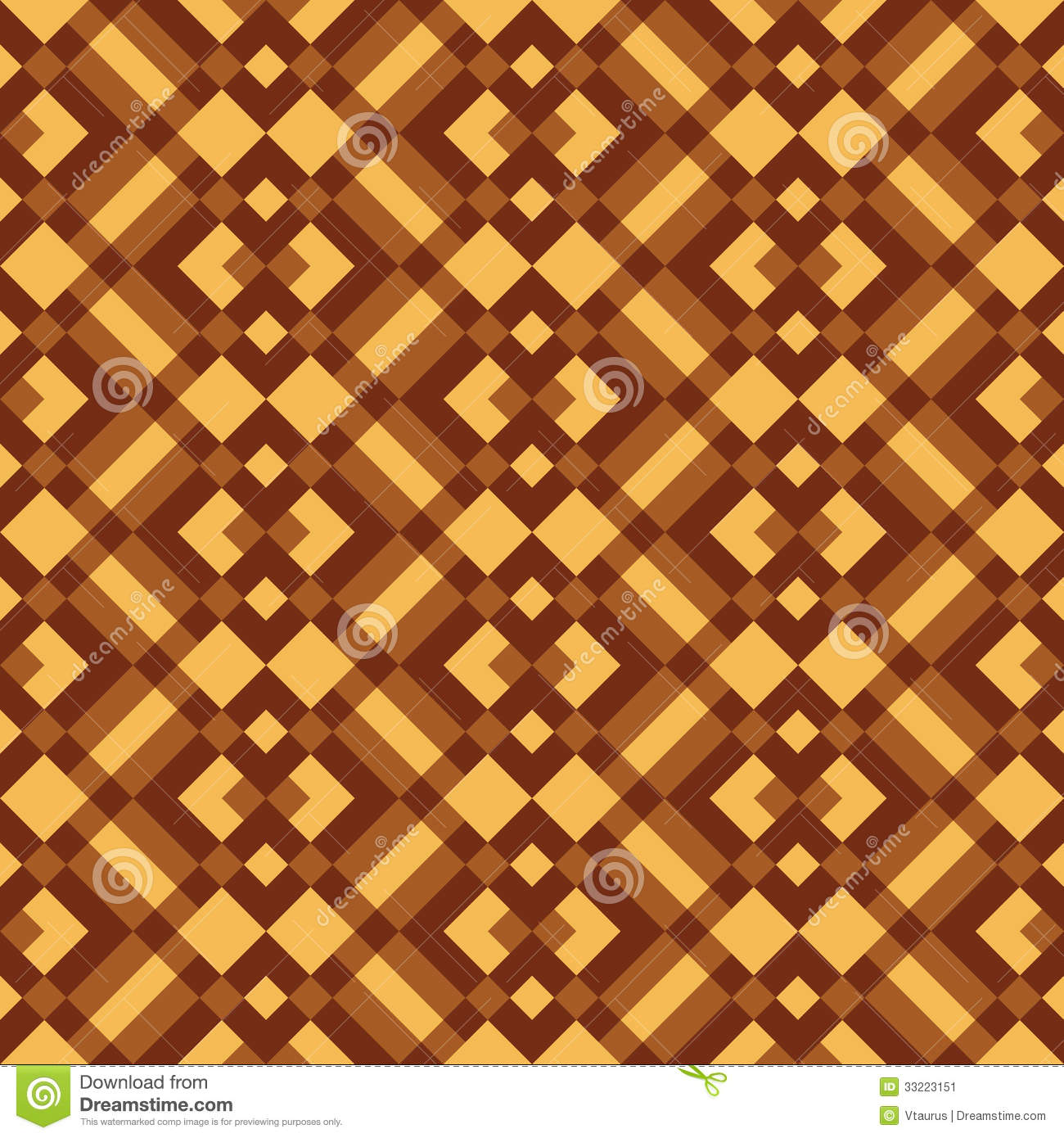 Seamless patchwork pattern. Small geometrical ornament. The motif on ...
