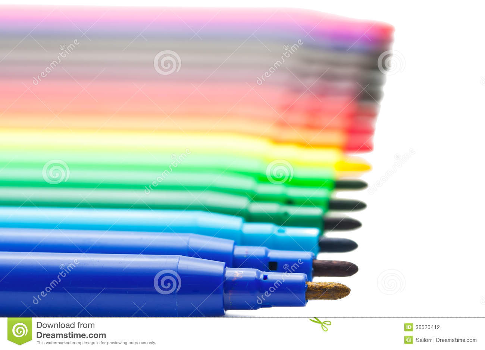 Marqueurs de couleur