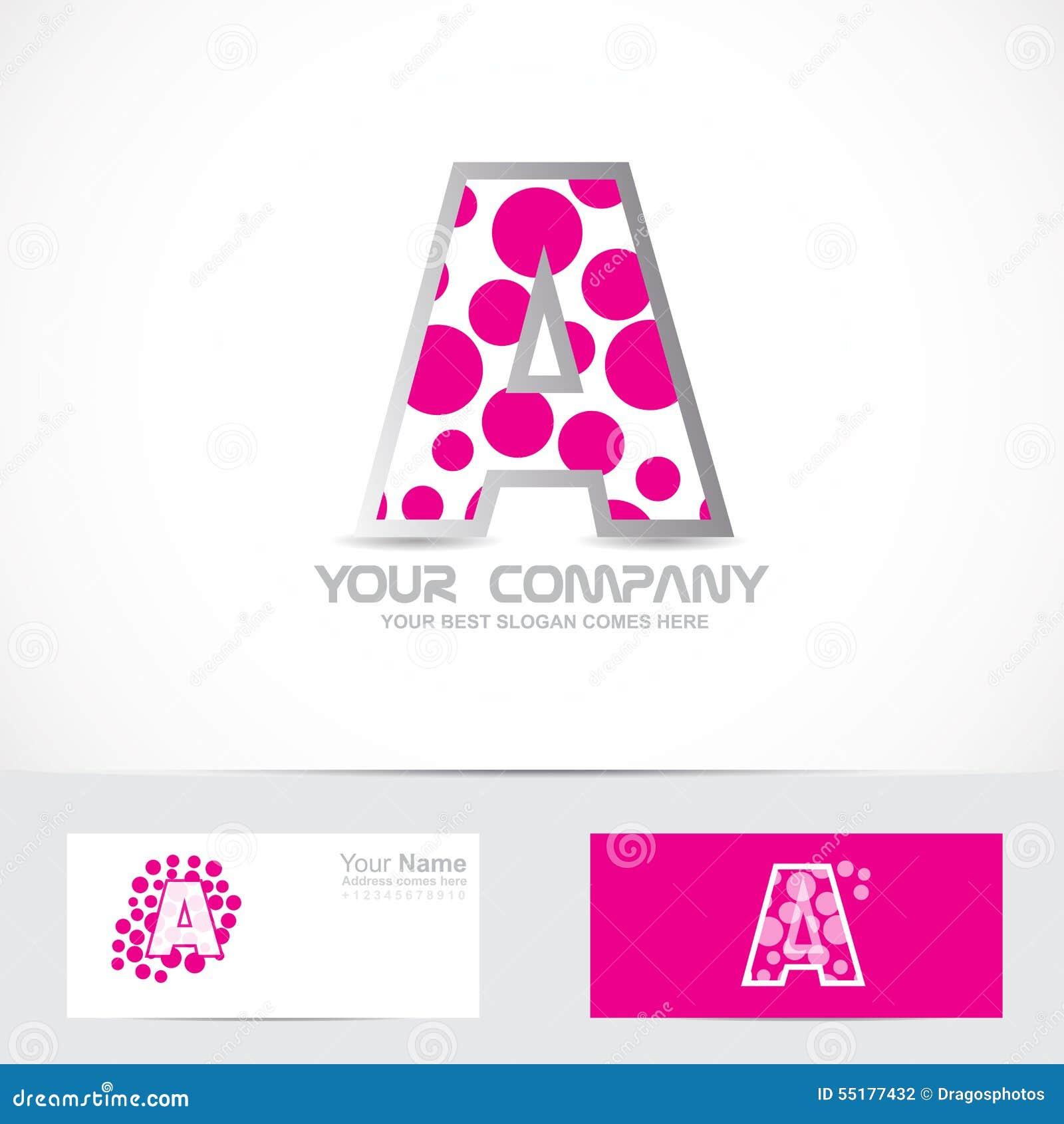 marquez avec des lettres un logo rose de bulle illustration de vecteur image 55177432. Black Bedroom Furniture Sets. Home Design Ideas