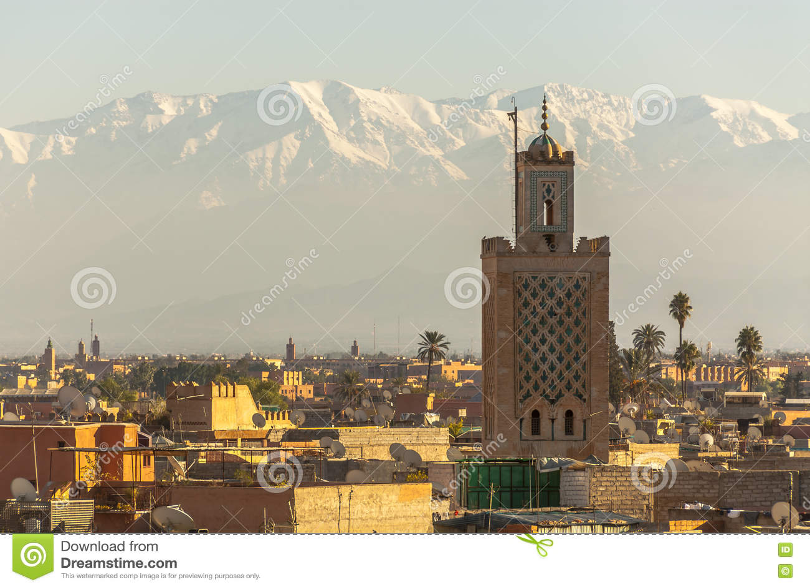 Marrakech in Marokko