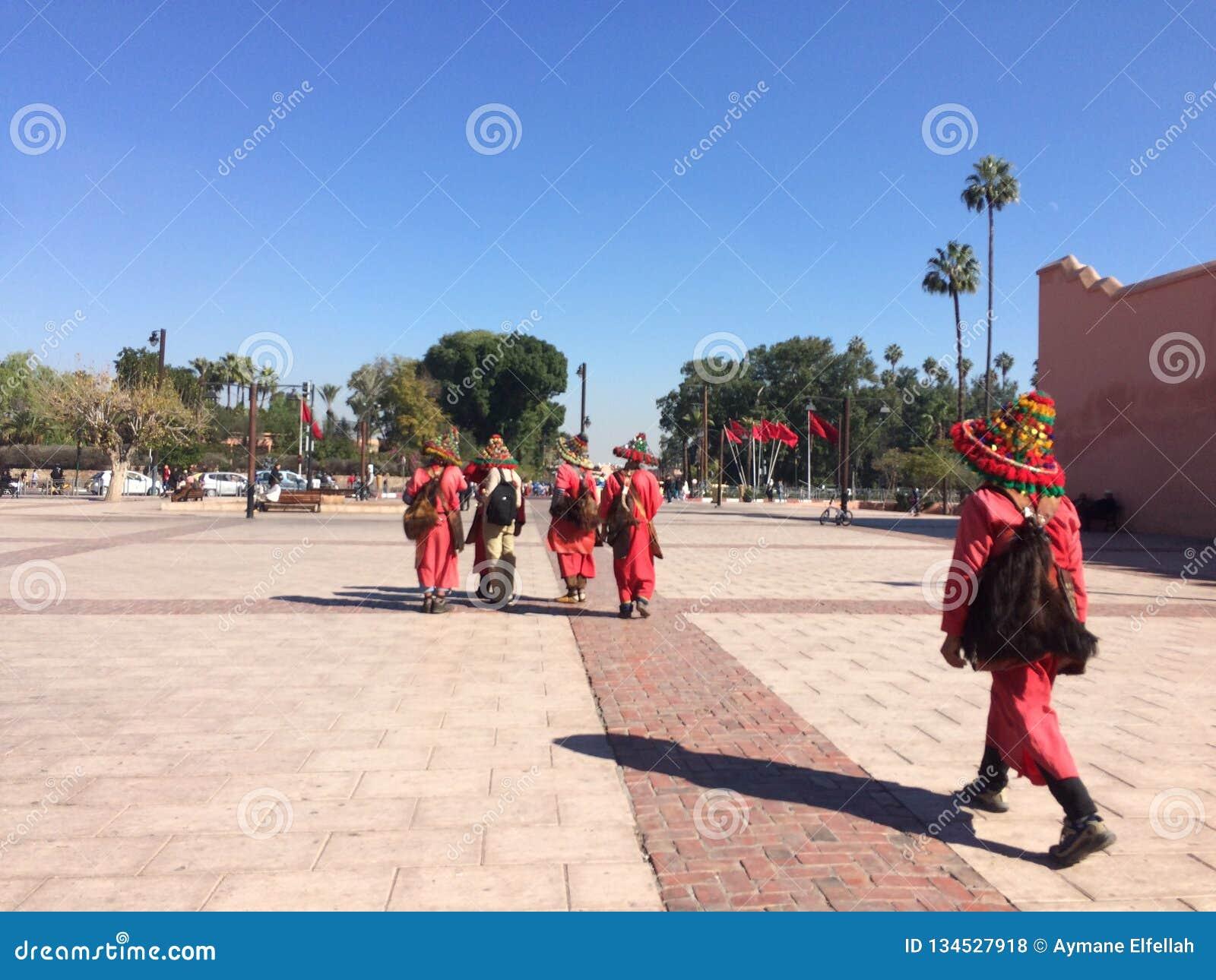 Marrakech morocco jamaa elfna