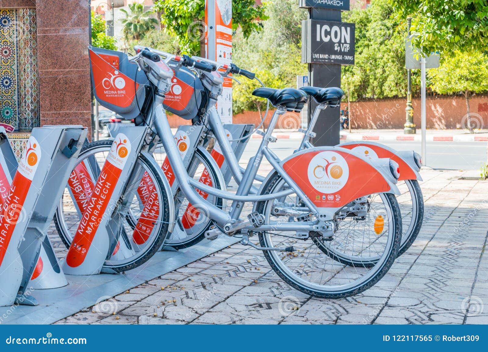 Medina Bike For Rent In Marrakech. Editorial Image - Image of medina ... 9e3f70251