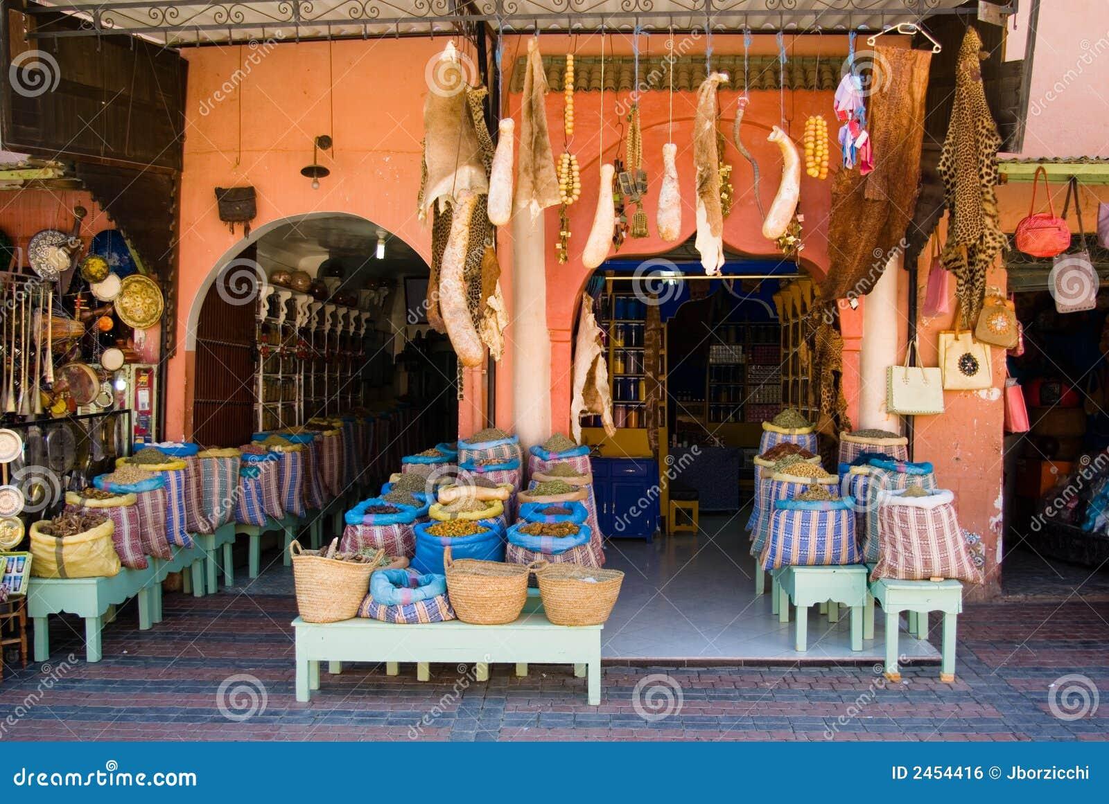 Marrakech s souk