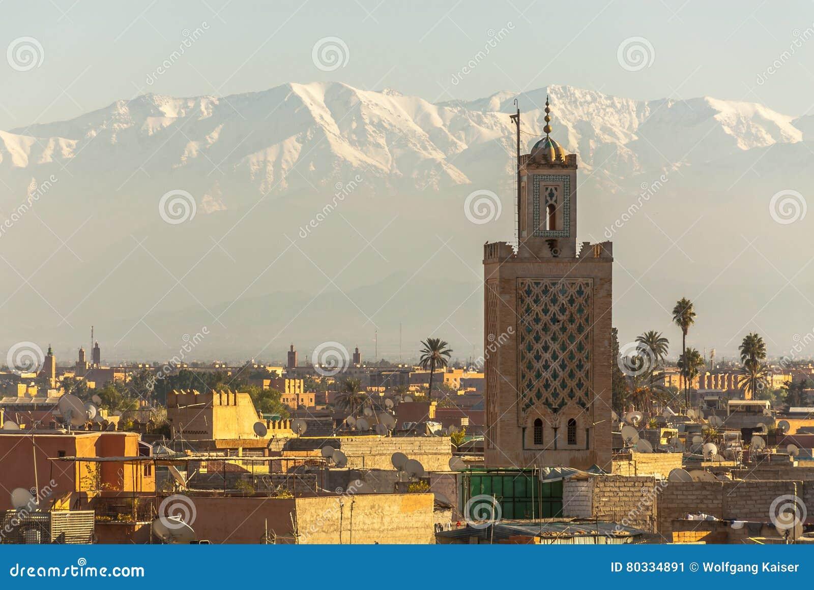 Marrakech w Maroko