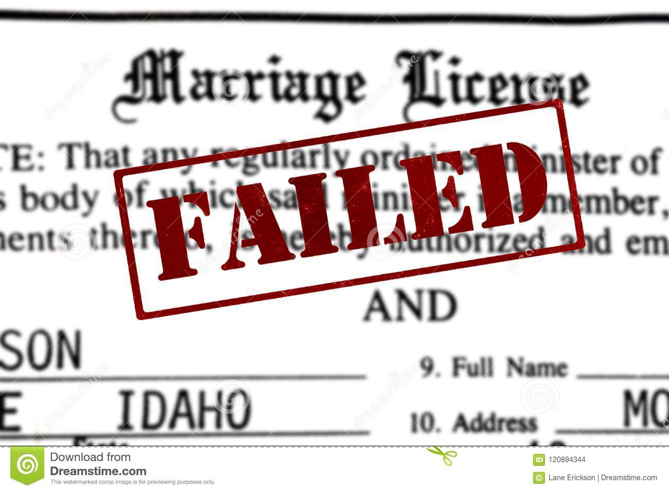 Marriage Certificate Certification Paperwork For Nuptials With F