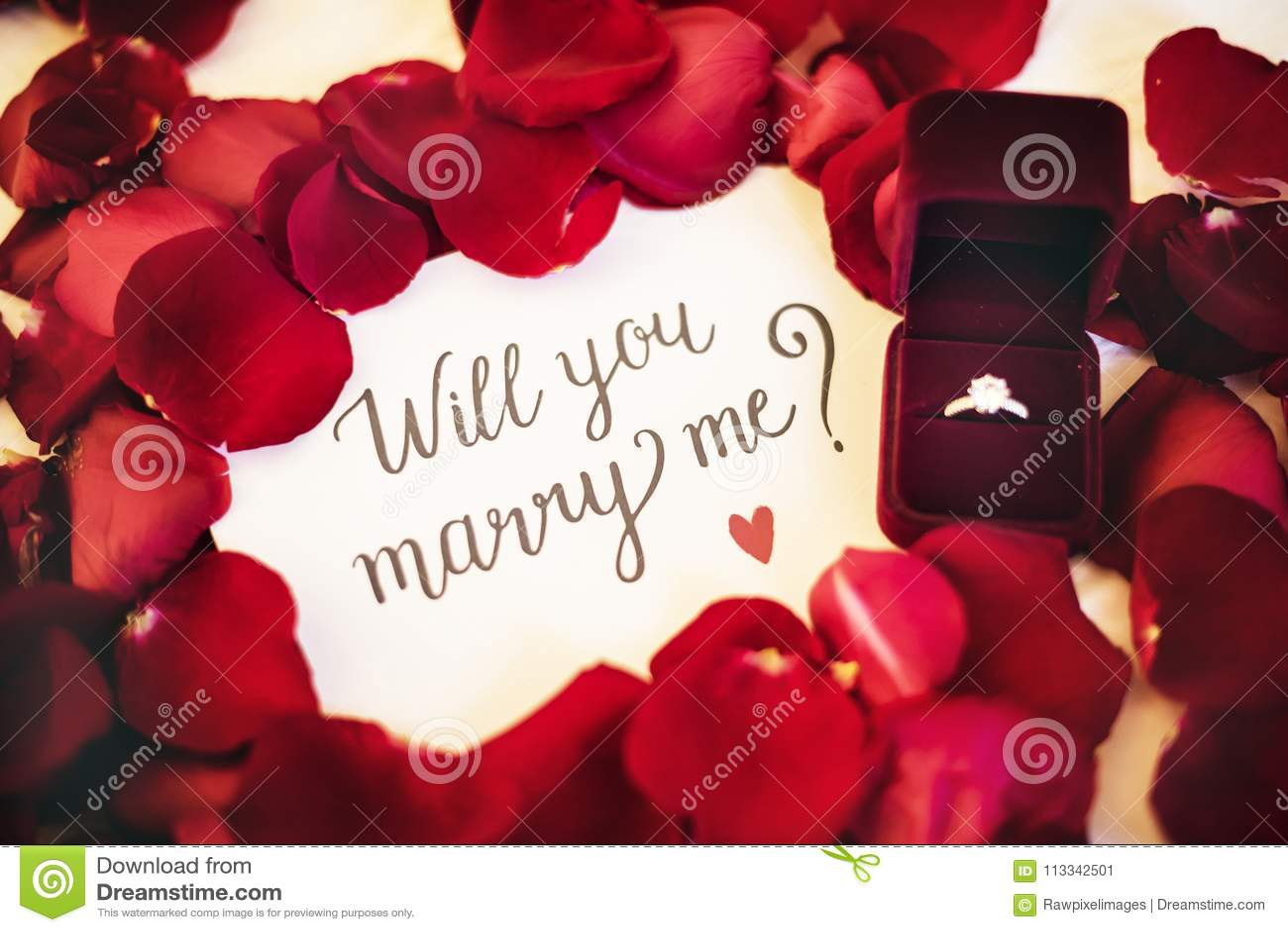wedding proposal writing