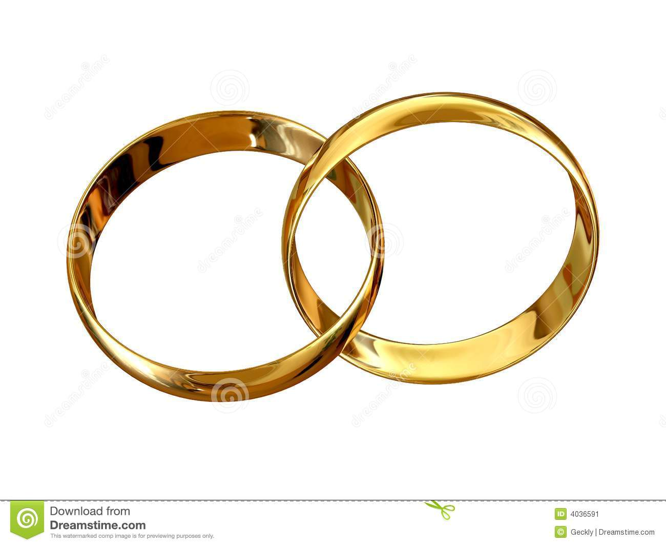 Marriage Symbol Stock Image - Image: 4036591