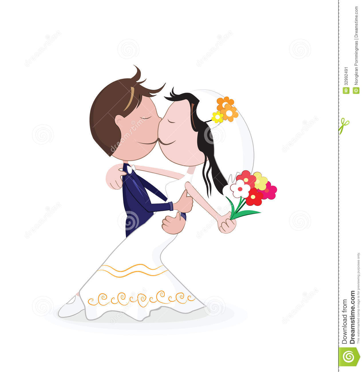 Marriage Stock Vector Image Of Marriage Girl Beauty