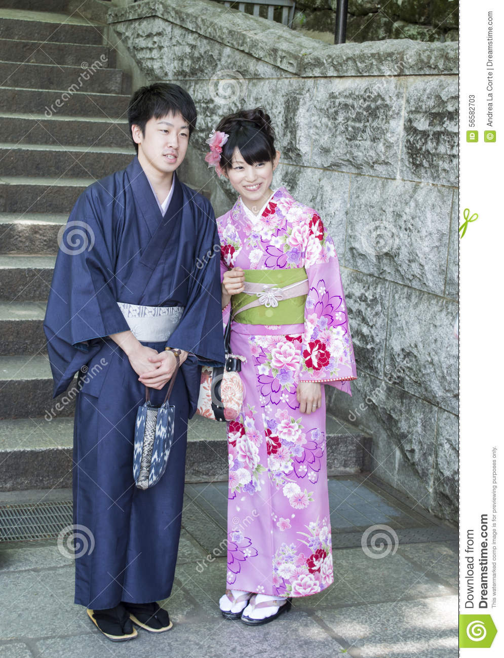 Married japanese couple