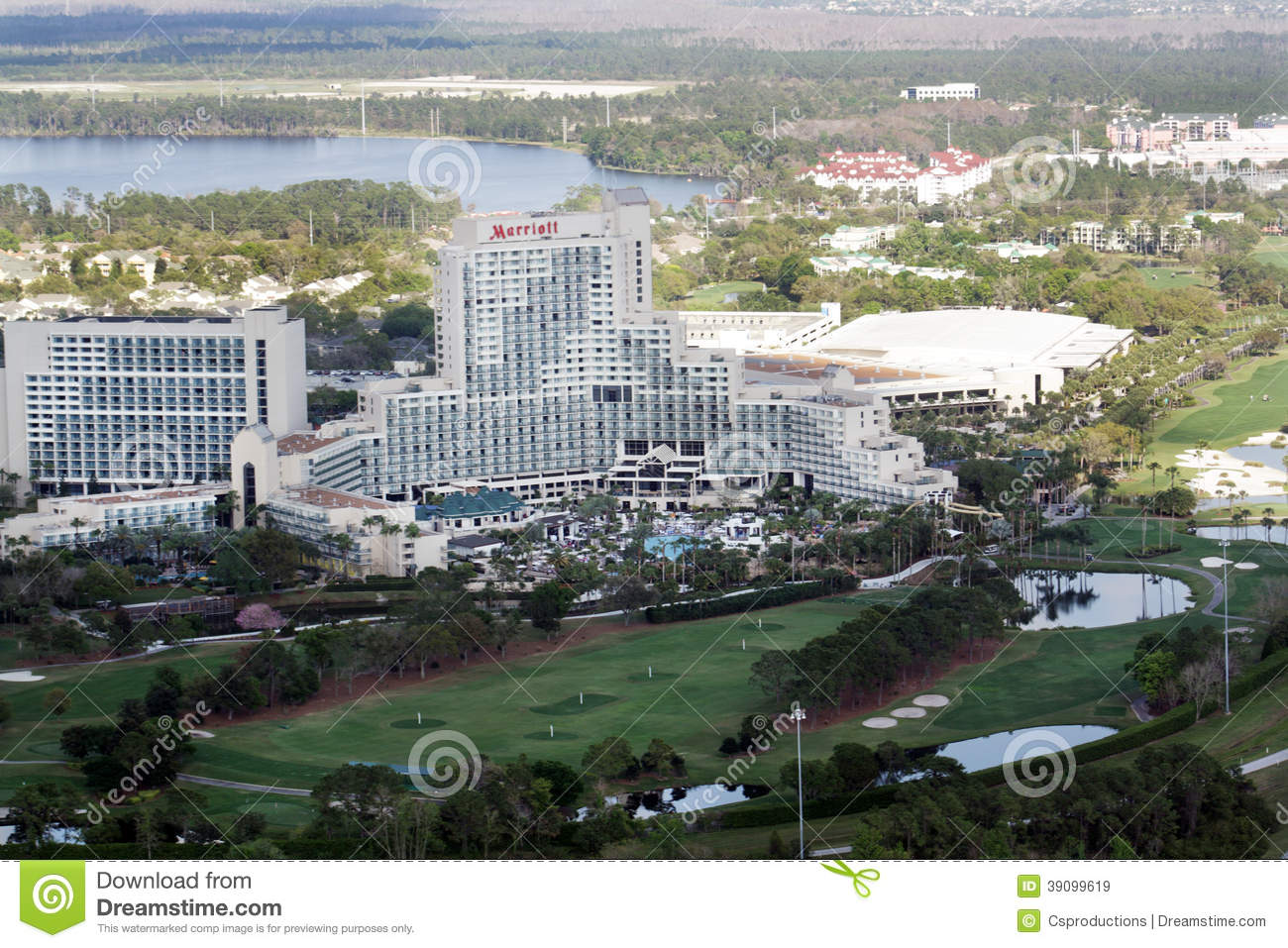 Marriott World Center Resort In Orlando Editorial Stock Image Image 39099619