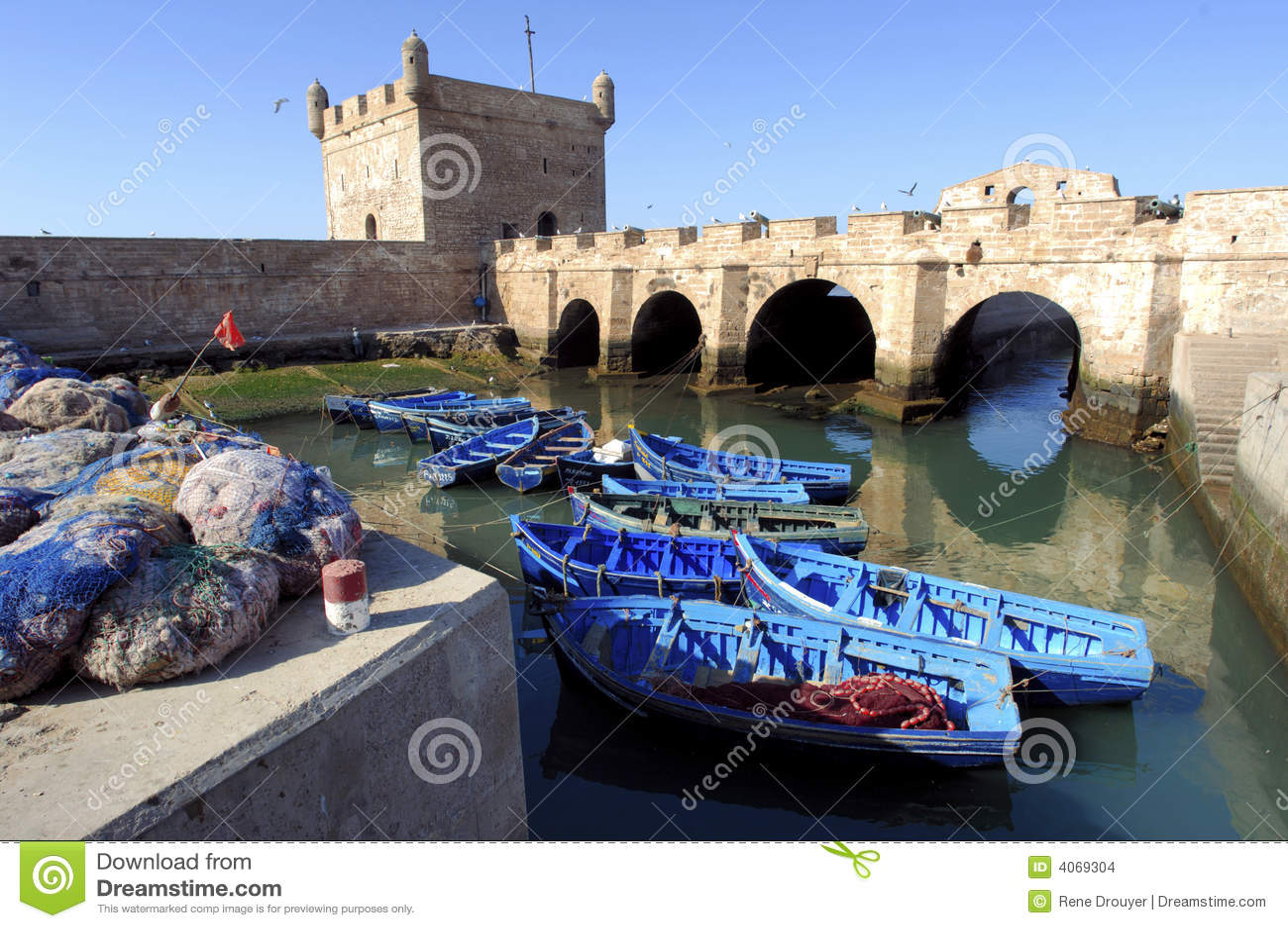 Marrocos, Essaouira: barcos de pesca