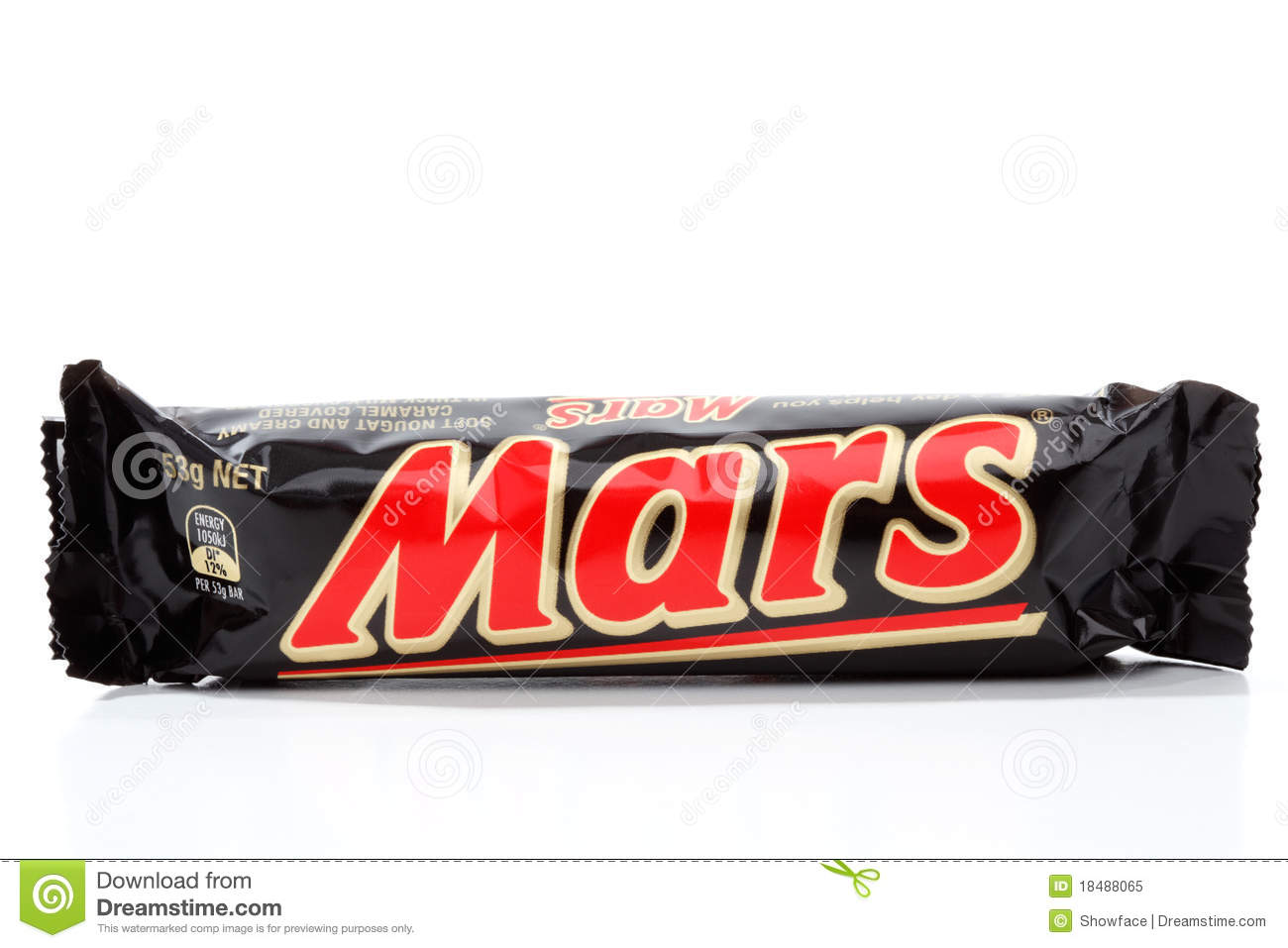Chocolate Bar Manufactured By Mars