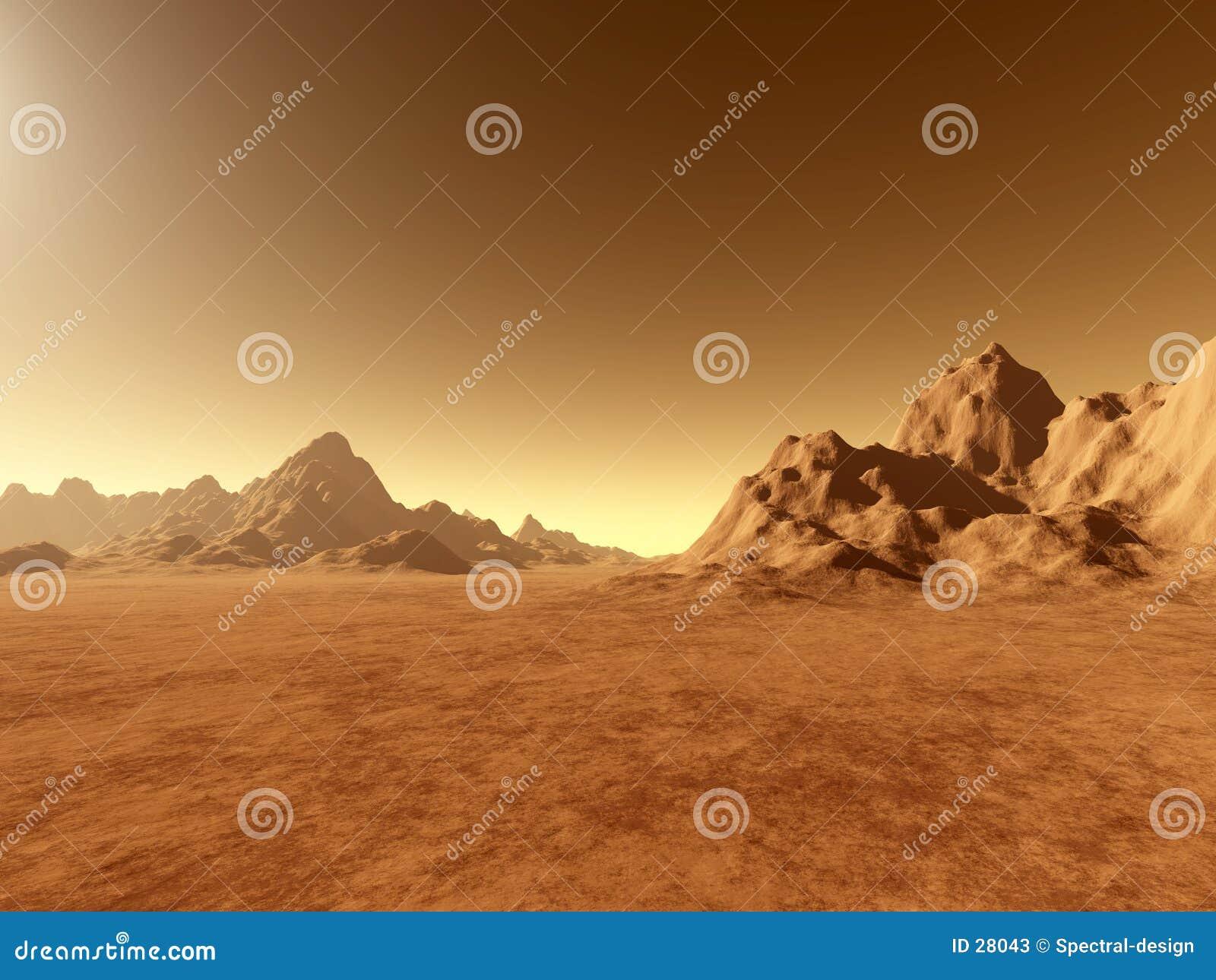 Mars - dichtbij Grond