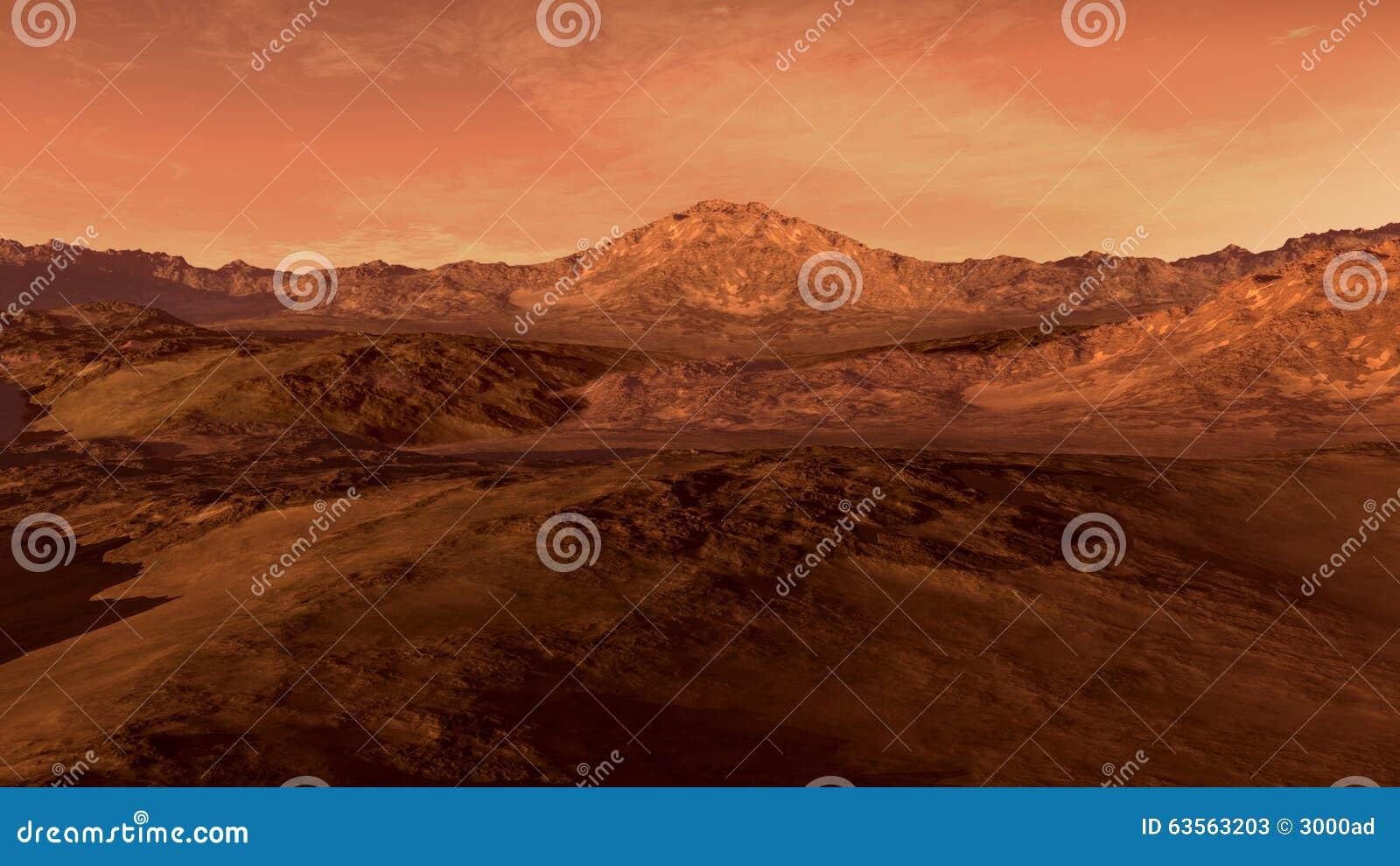 Mars jak czerwona planeta
