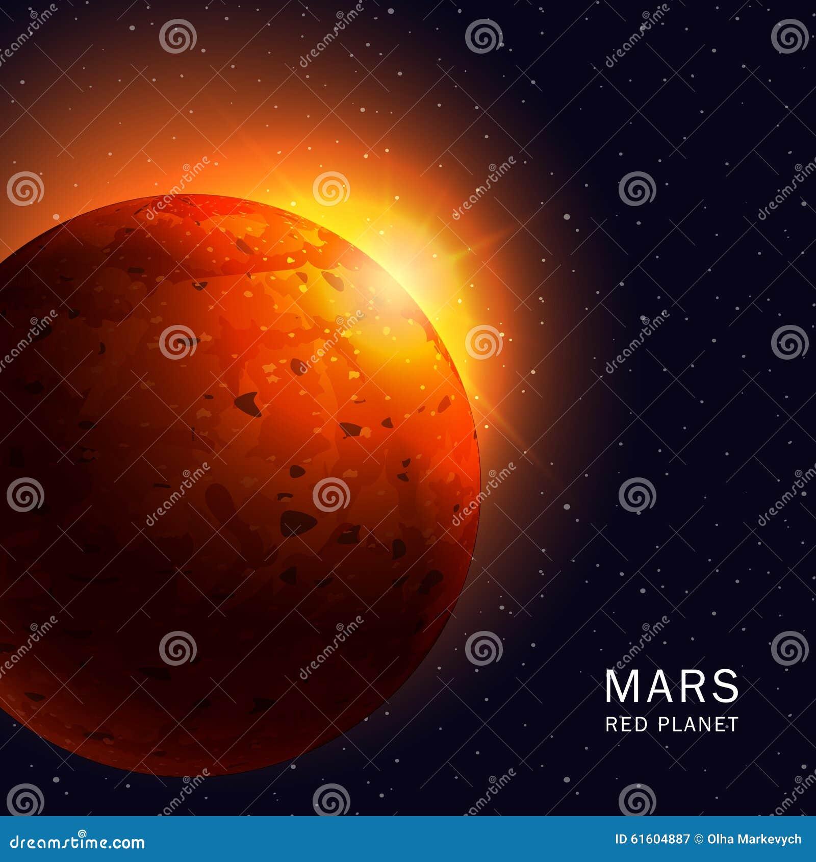 mars planet vector - photo #37