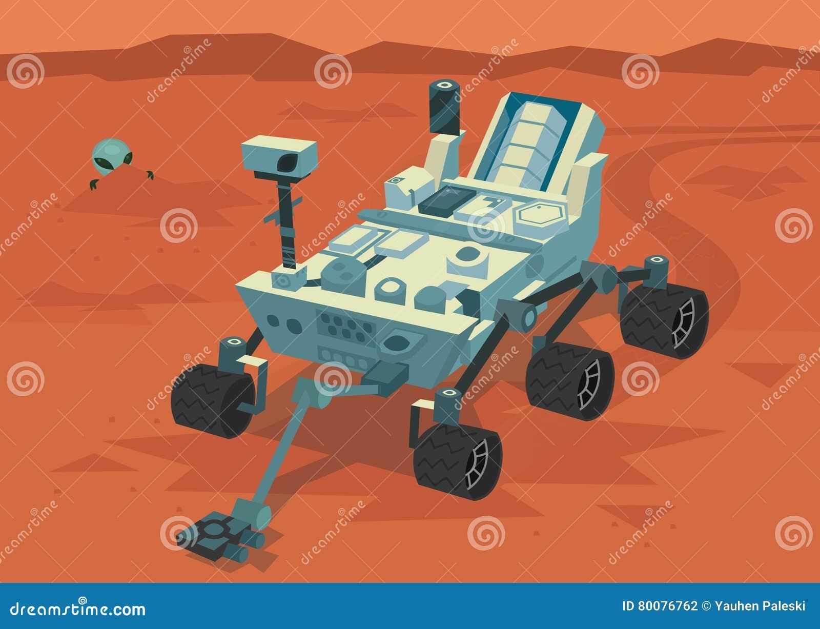 mars rover vector - photo #9