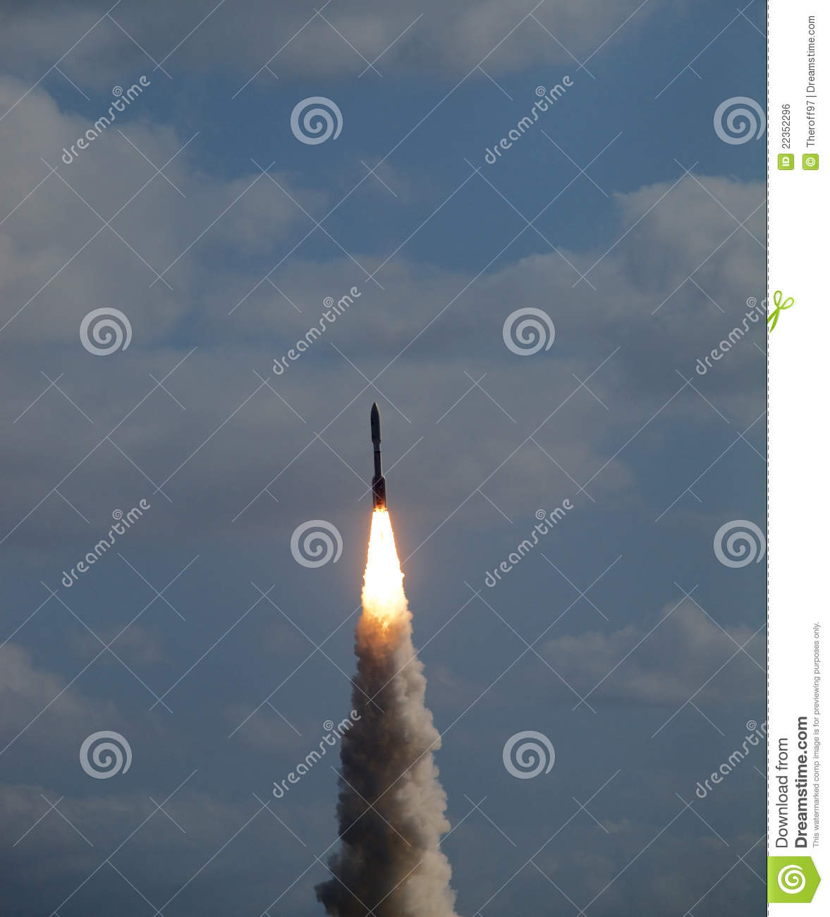 Mars Rover Launch Royalty Free Stock Image - Image: 22352296