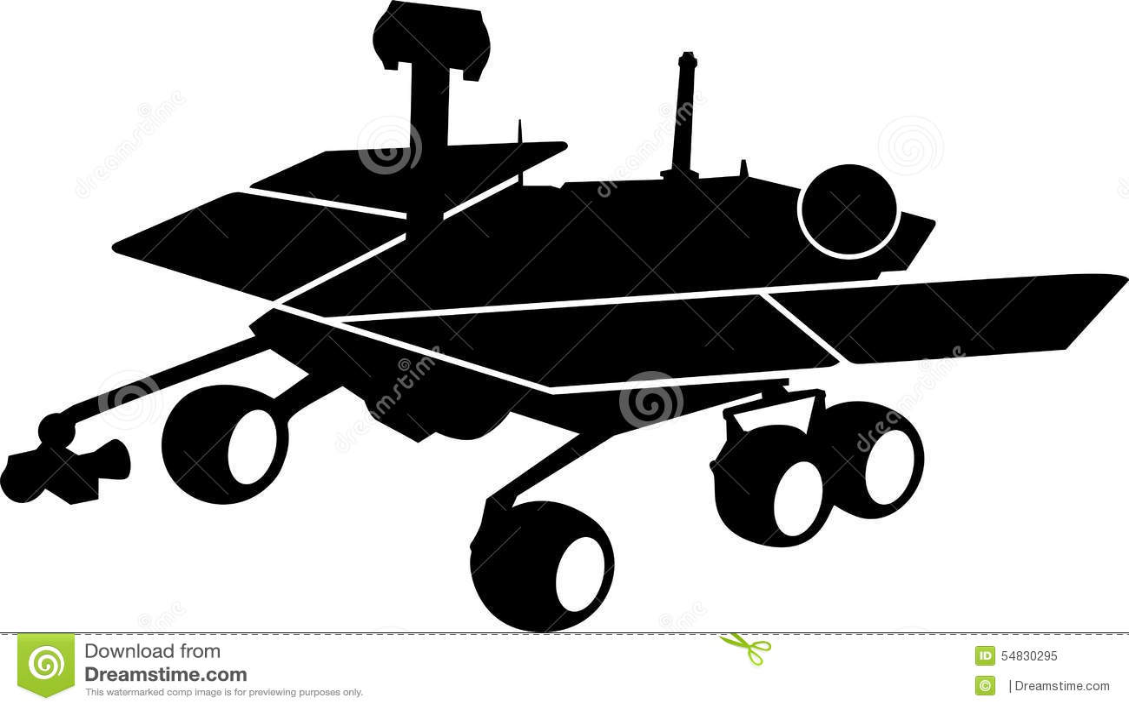 mars rover vector - photo #15
