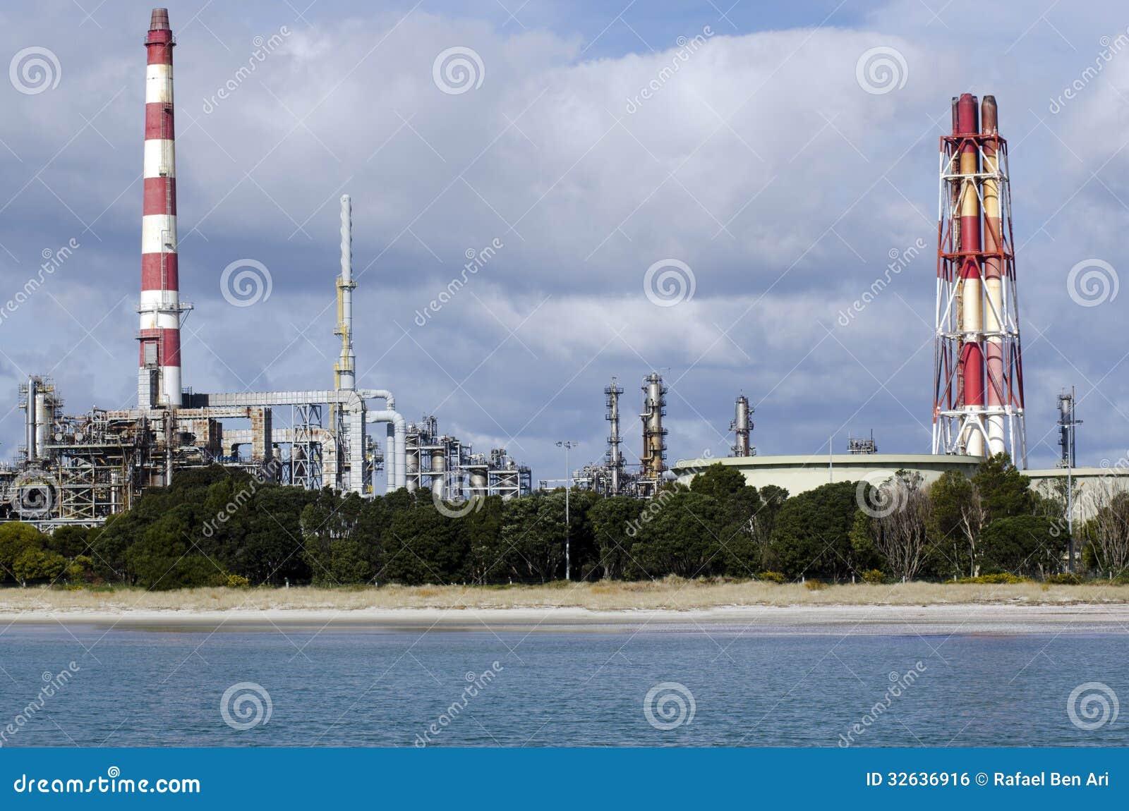 Marsden Point Oil Refinery Editorial Photo Image 32636916