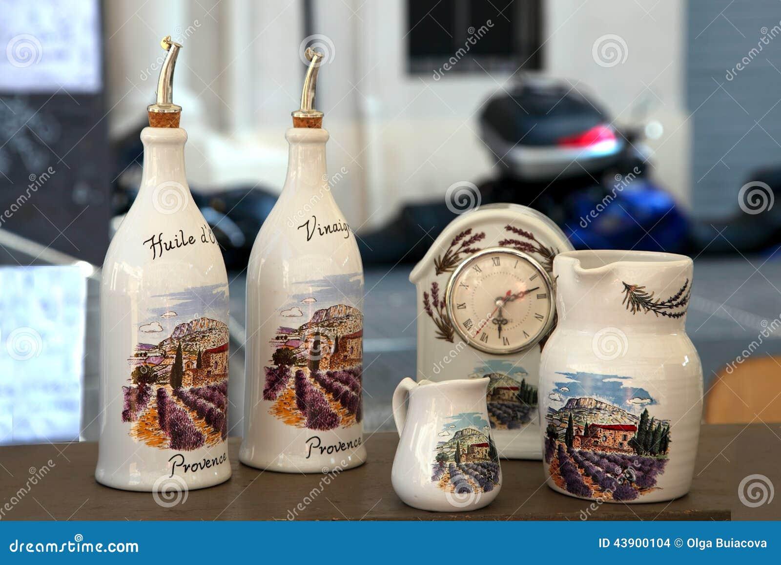 Marseille france circa july 2014 sale souvenir crockery in a marseille france circa july 2014 sale souvenir crockery in a publicscrutiny Images
