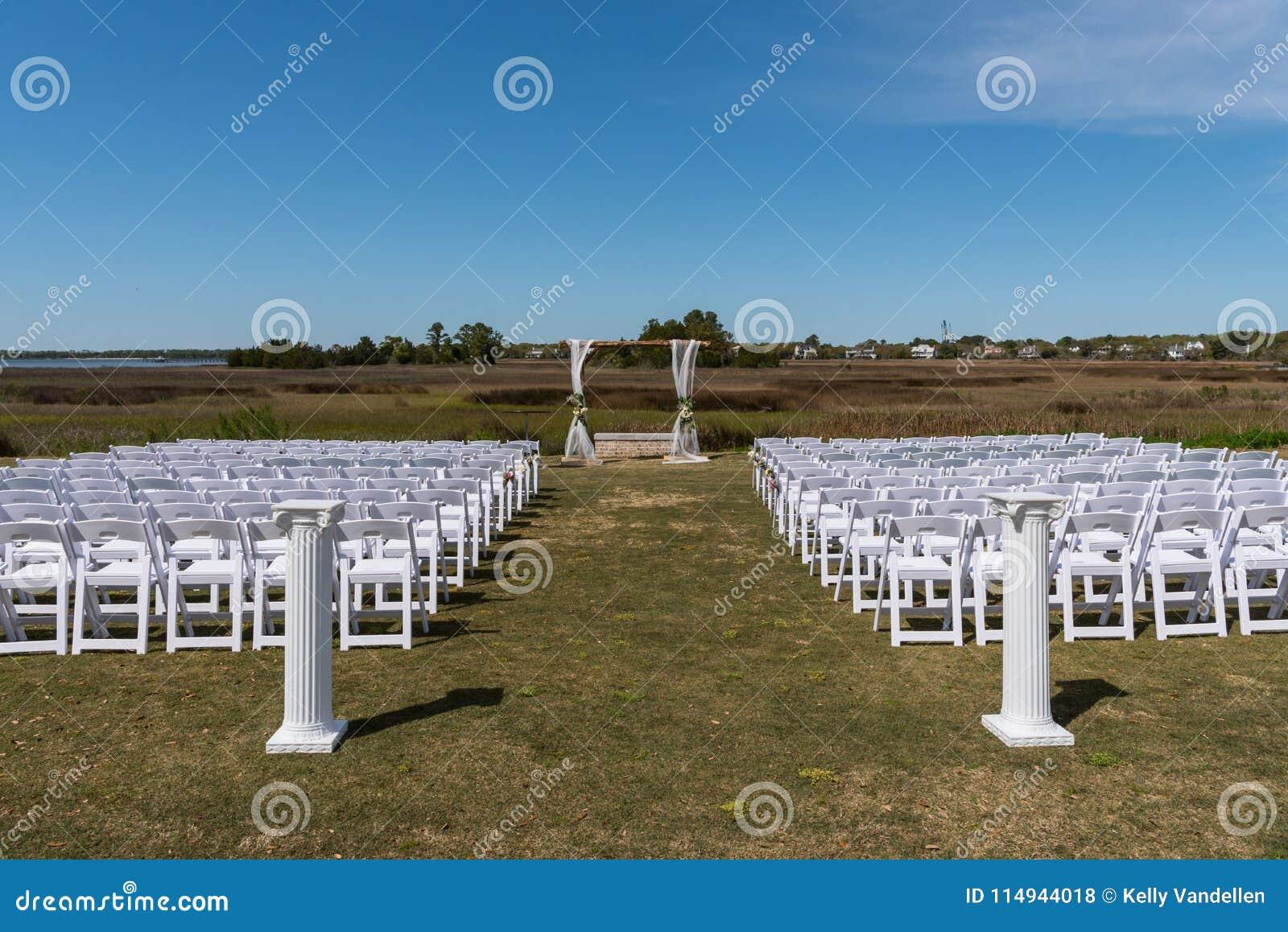 Marsh Wedding Setup