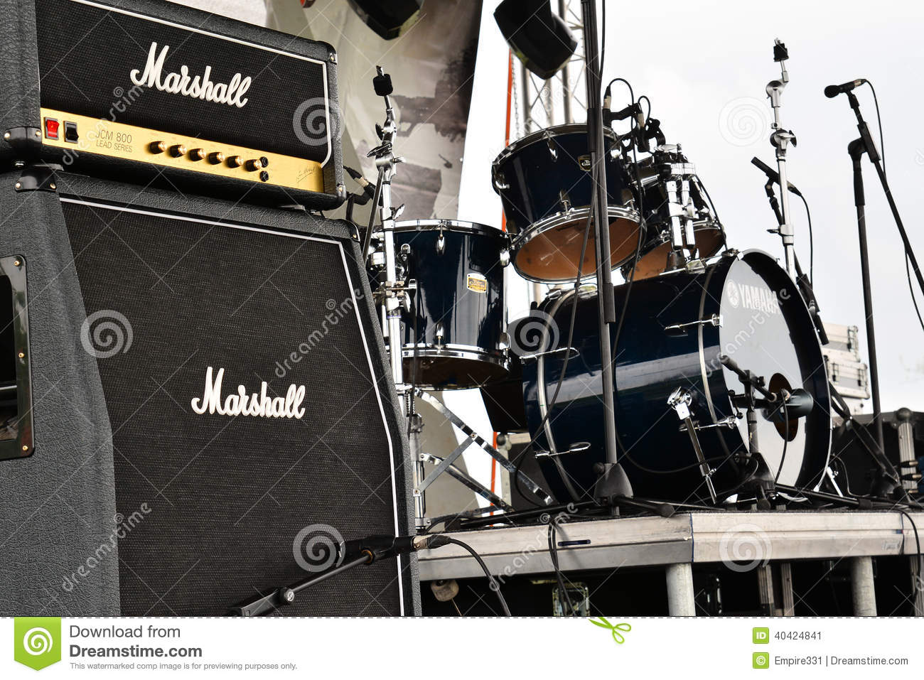Marshall amps editorial photo  Image of musical, concert - 40424841