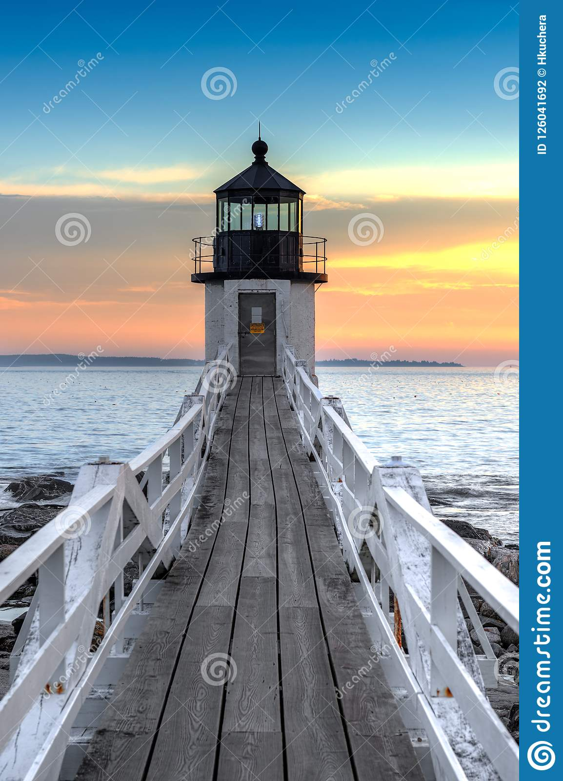 Marshall Point Lighthouse Walkway
