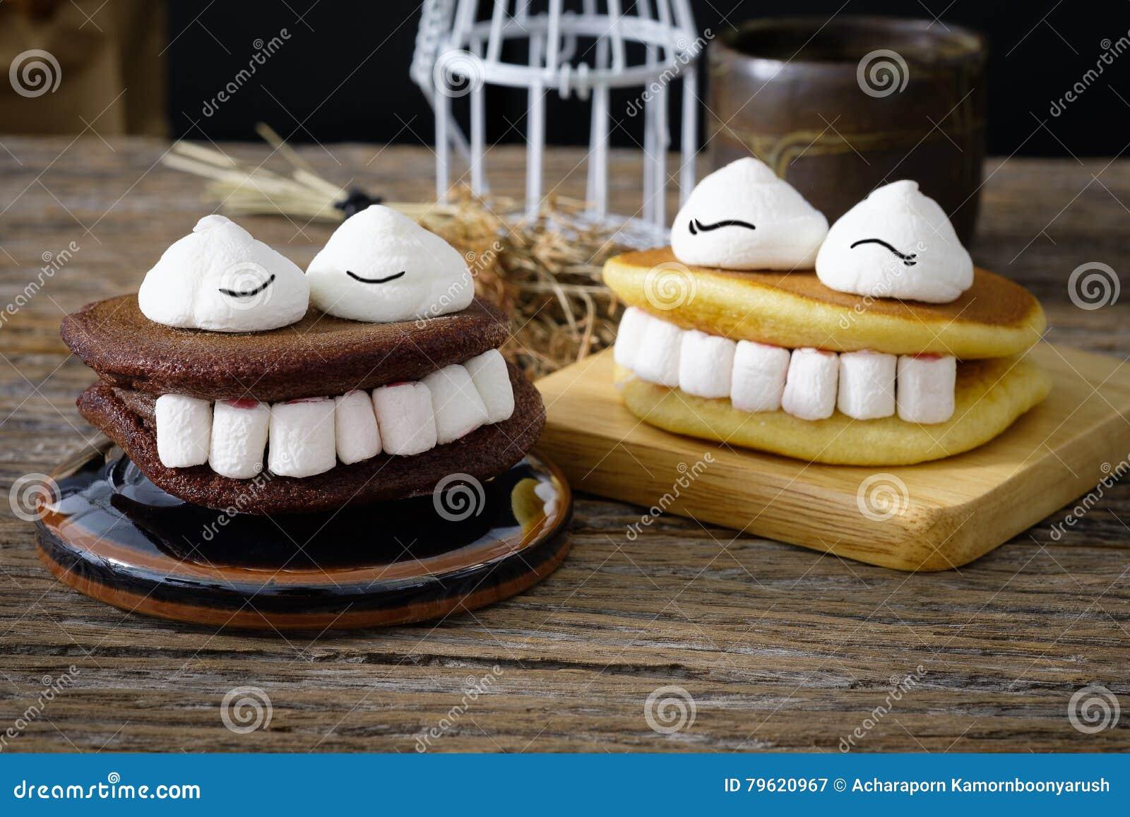 Marshmallow de Dia das Bruxas