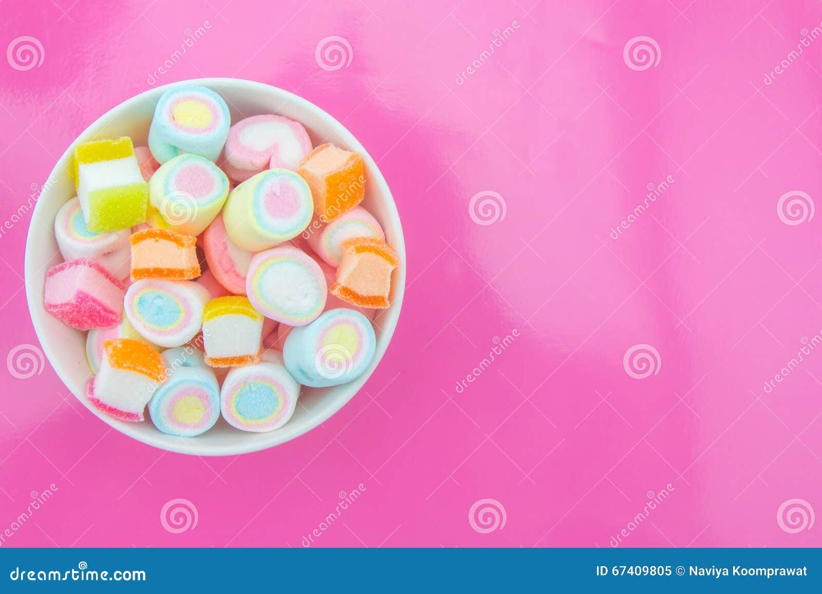 Marshmallow w filiżance