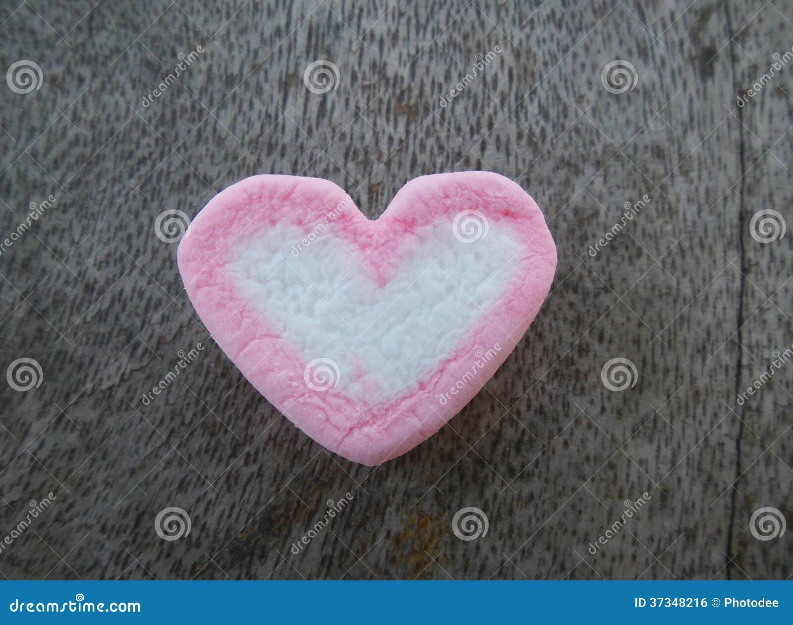 Marshmallowhjärta