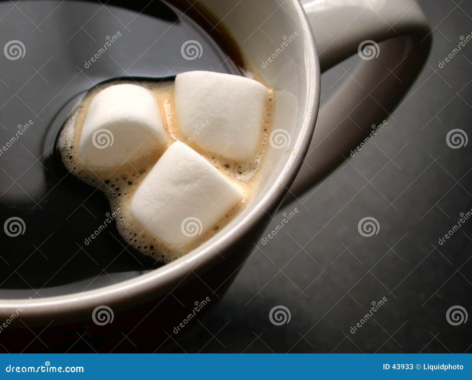 Marshmallows καφέ