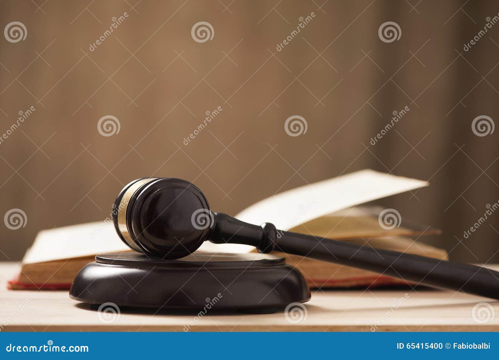 Marteau de cour de juges