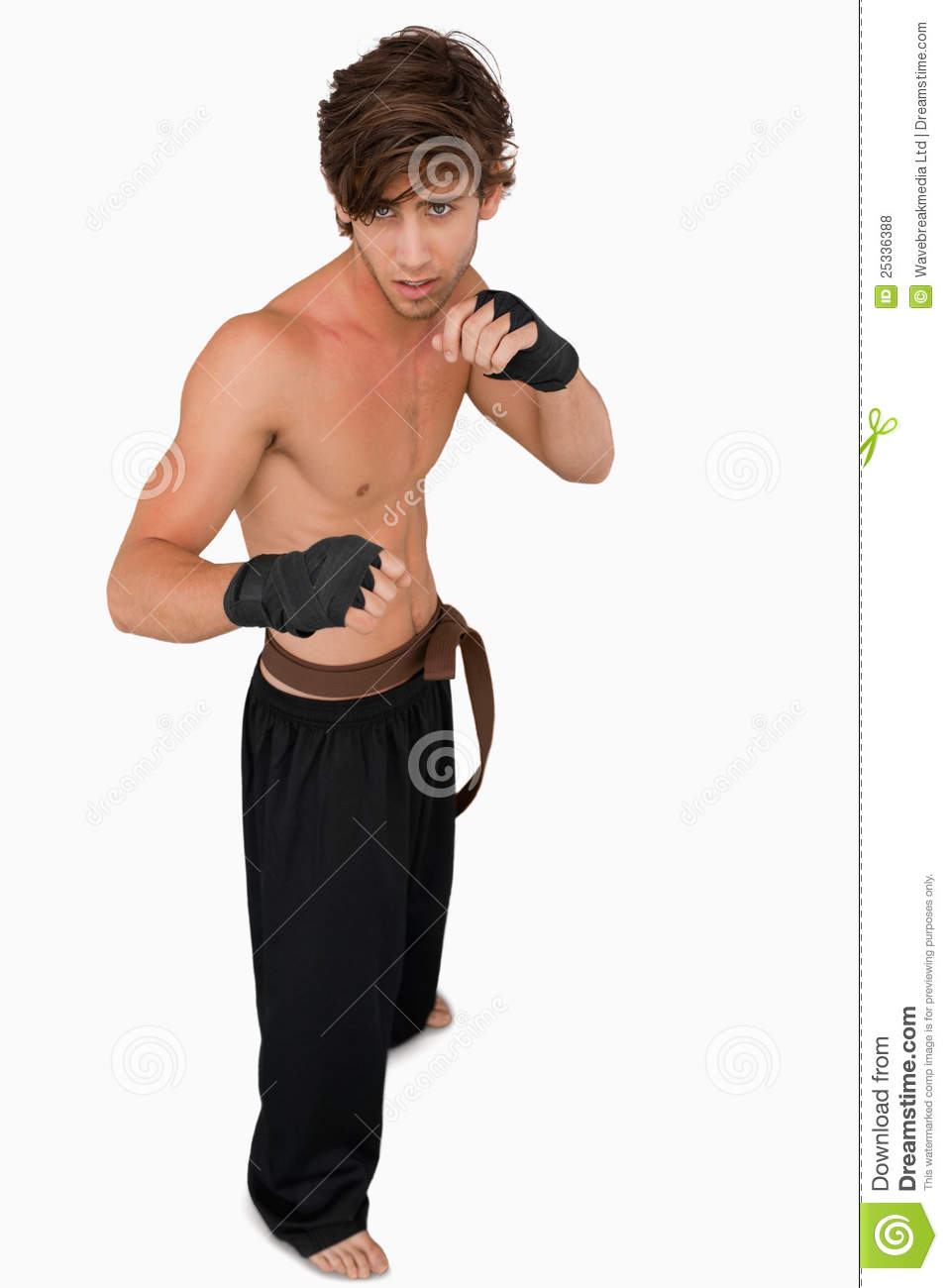 How to Get Into a Fighting Stance