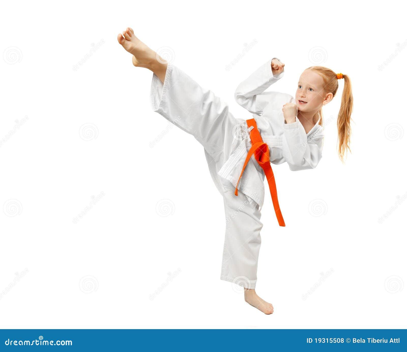 Martial Arts Girl Royalty Free Stock Photos Image 19315508