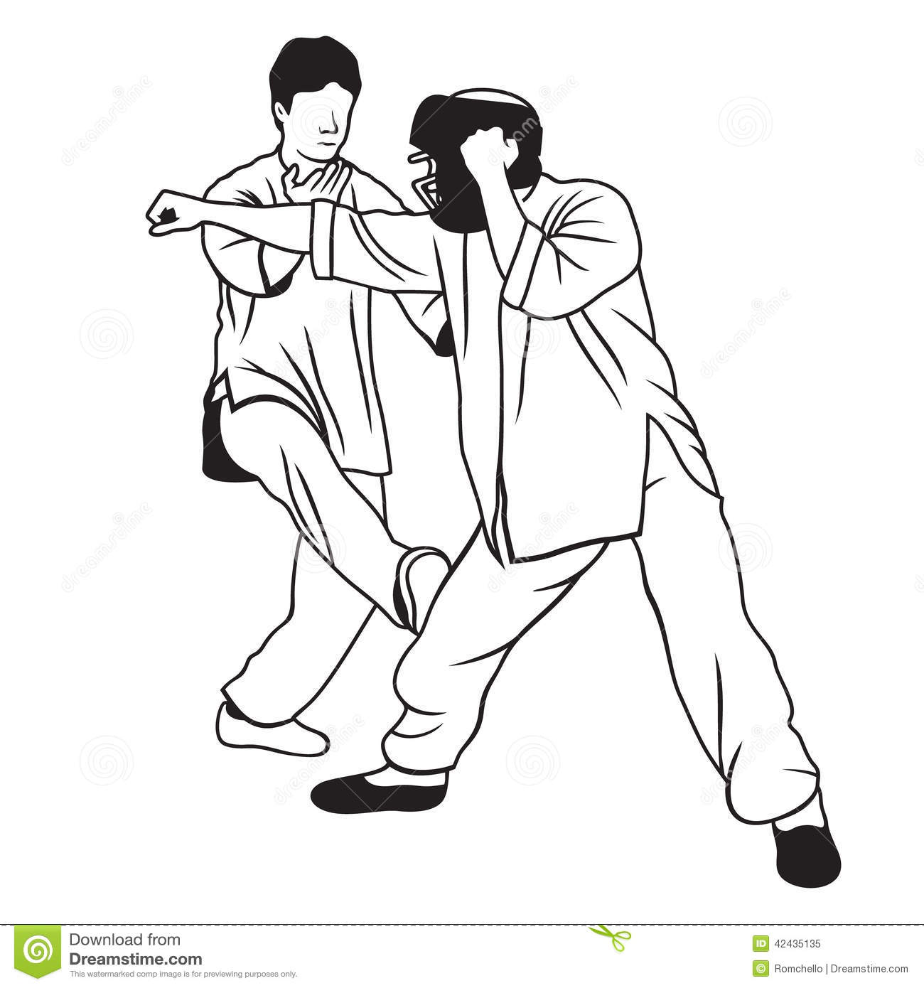 Chun stock illustrations 105 chun stock illustrations vectors martial arts illustration application of self defense techniques when attacking enemy royalty free stock biocorpaavc