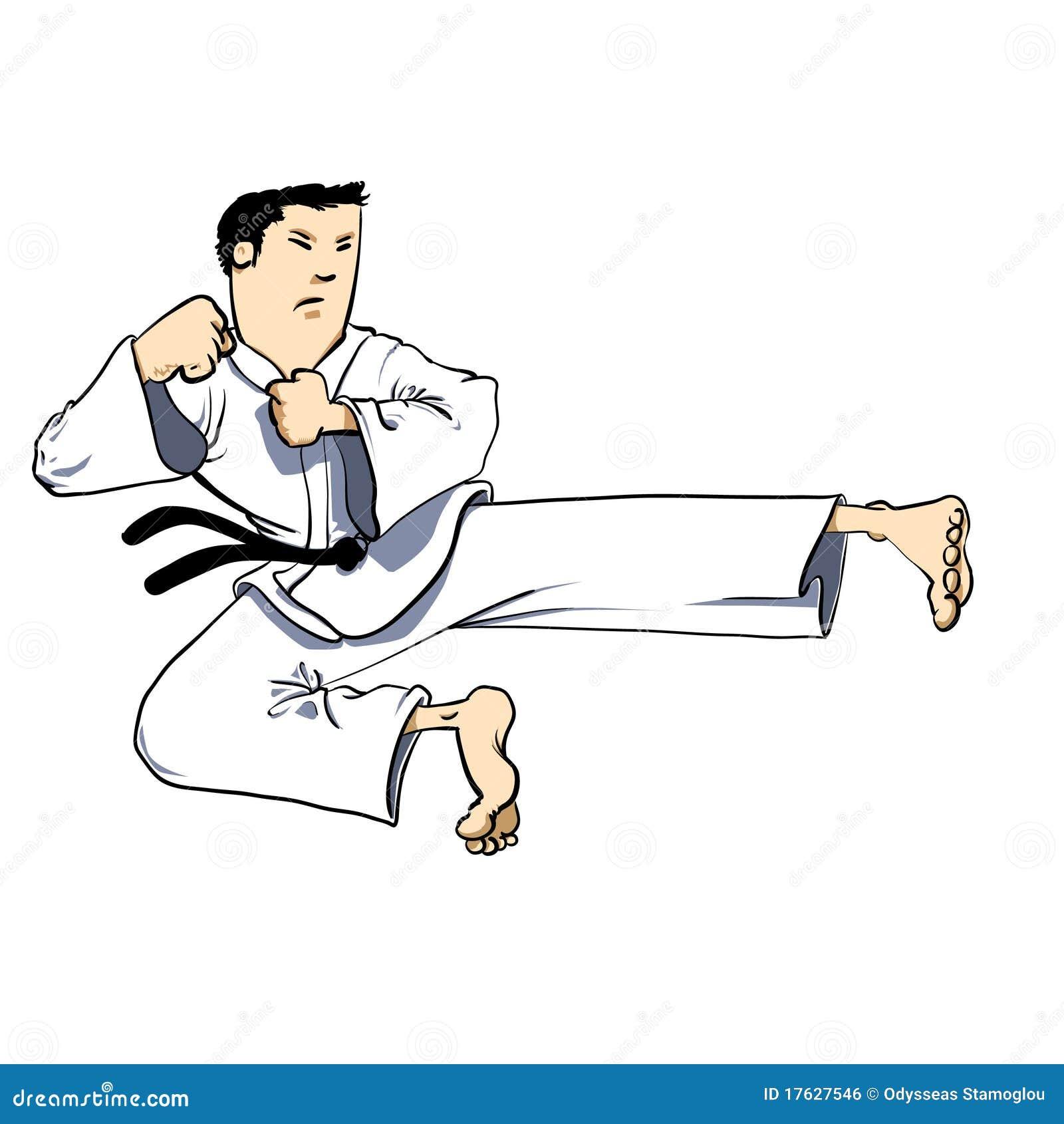Martial Arts - ... Clip Art Of Karate