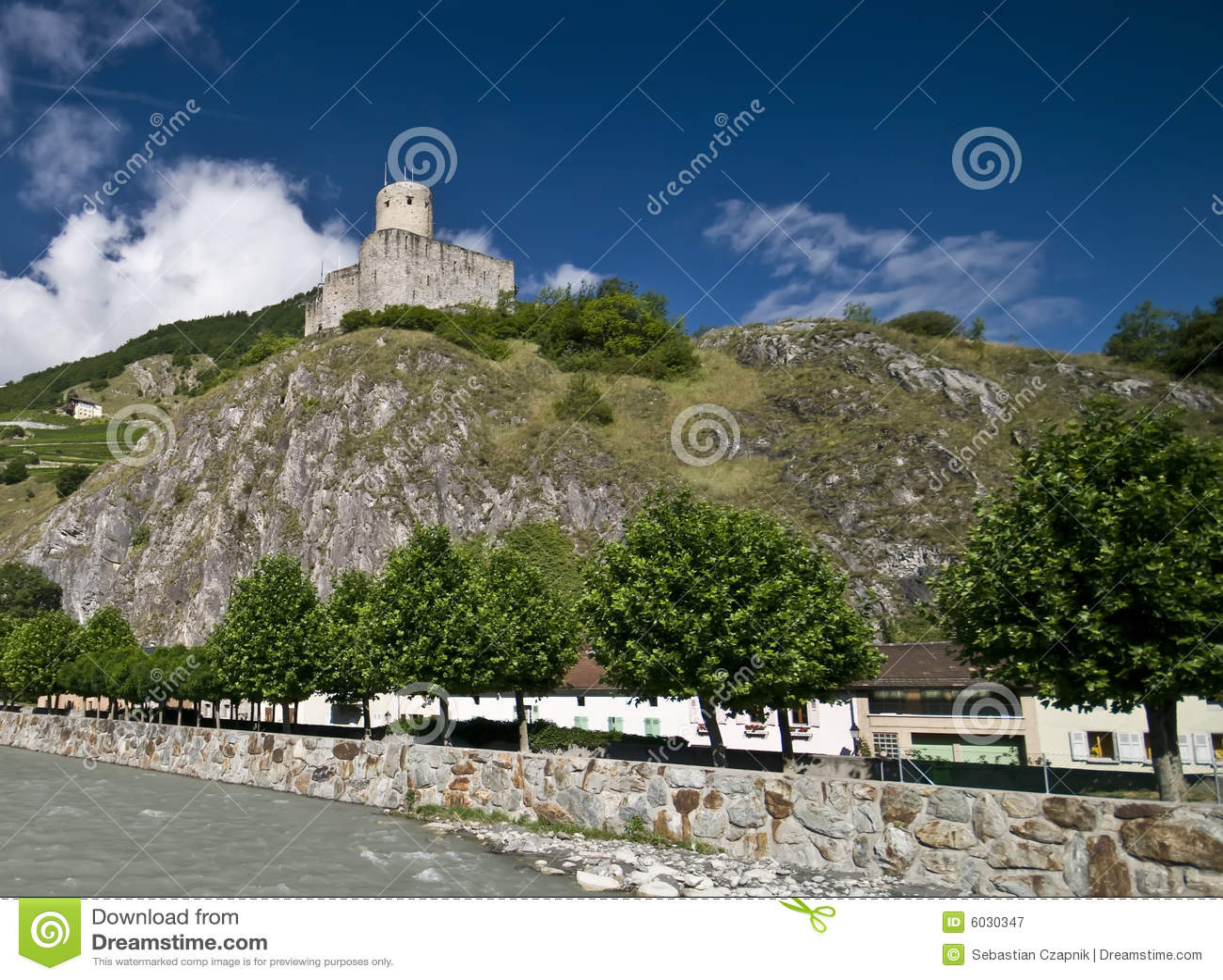 Martigny castle