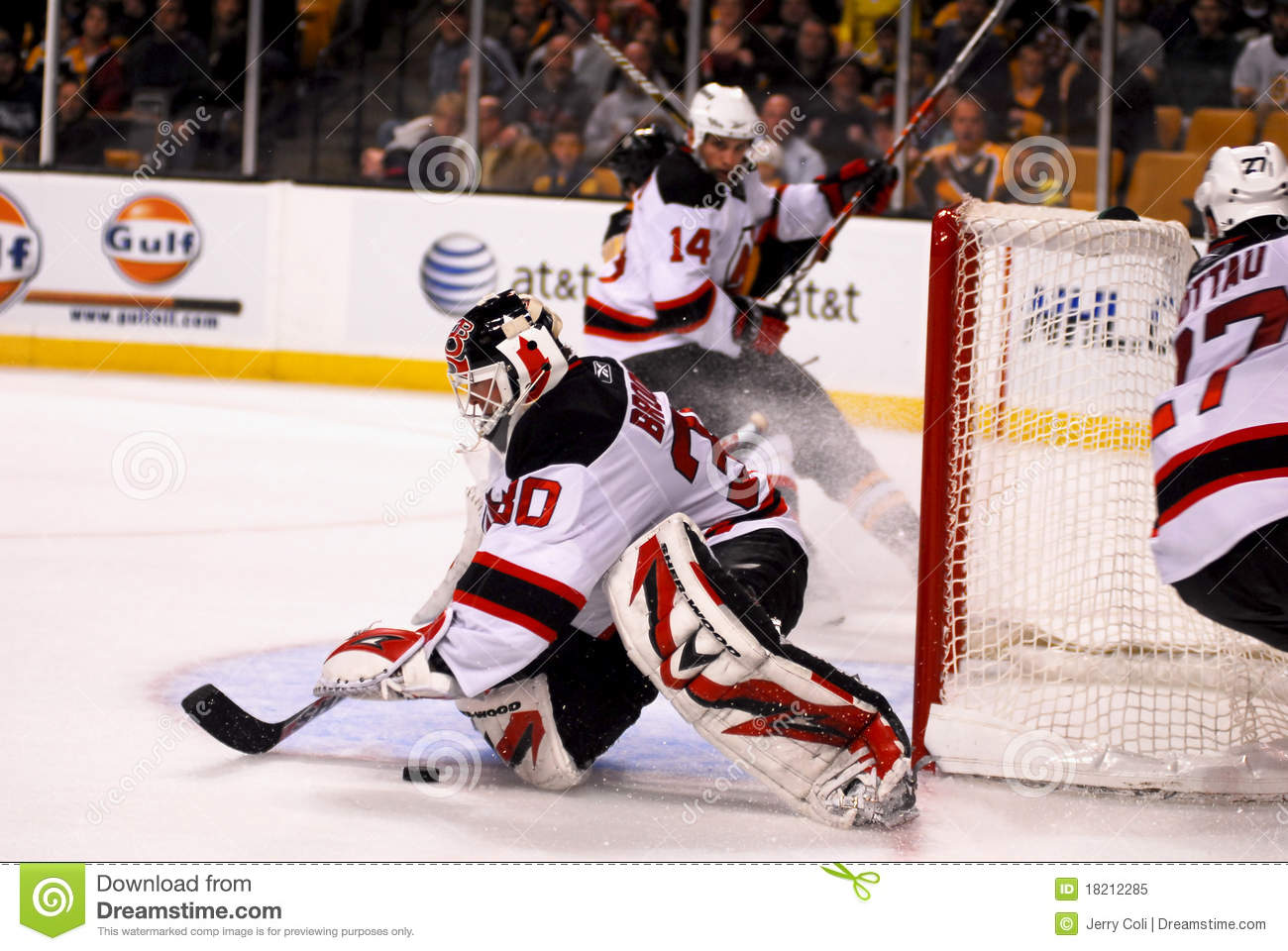 official photos b1c6b a5c16 Martin Brodeur New Jersey Devils Editorial Image - Image of ...